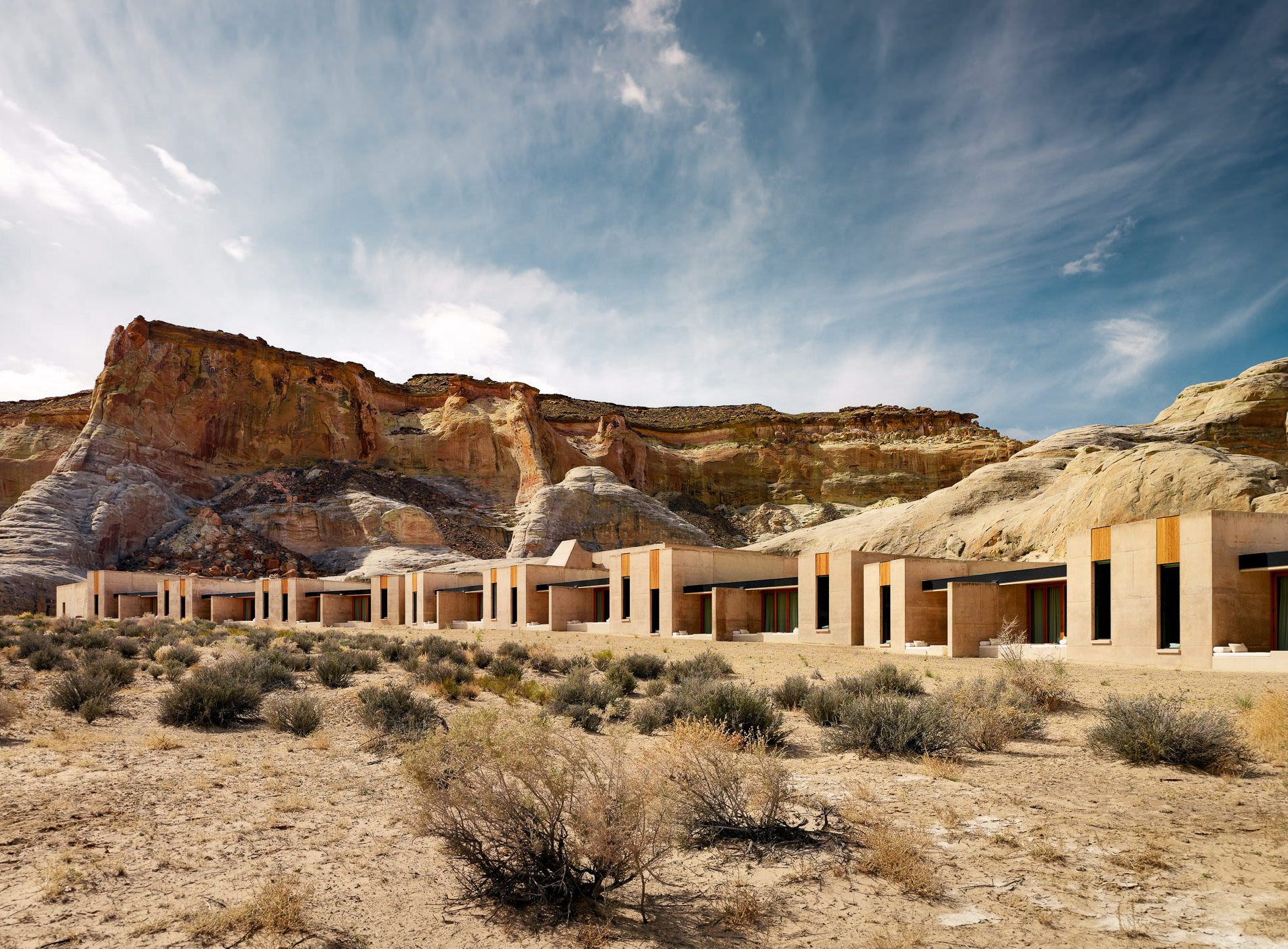 Amangiri Hotel Utah Canyon Point Desert