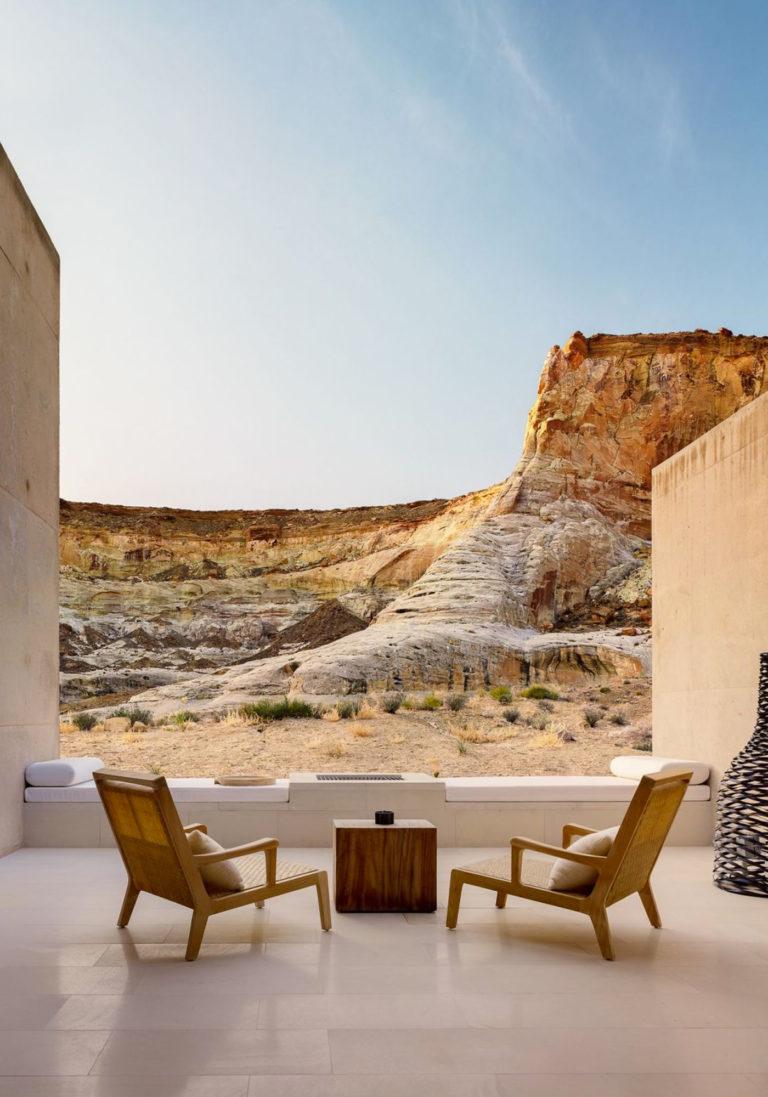 Amangiri Hotel Utah Canyon Point Desert