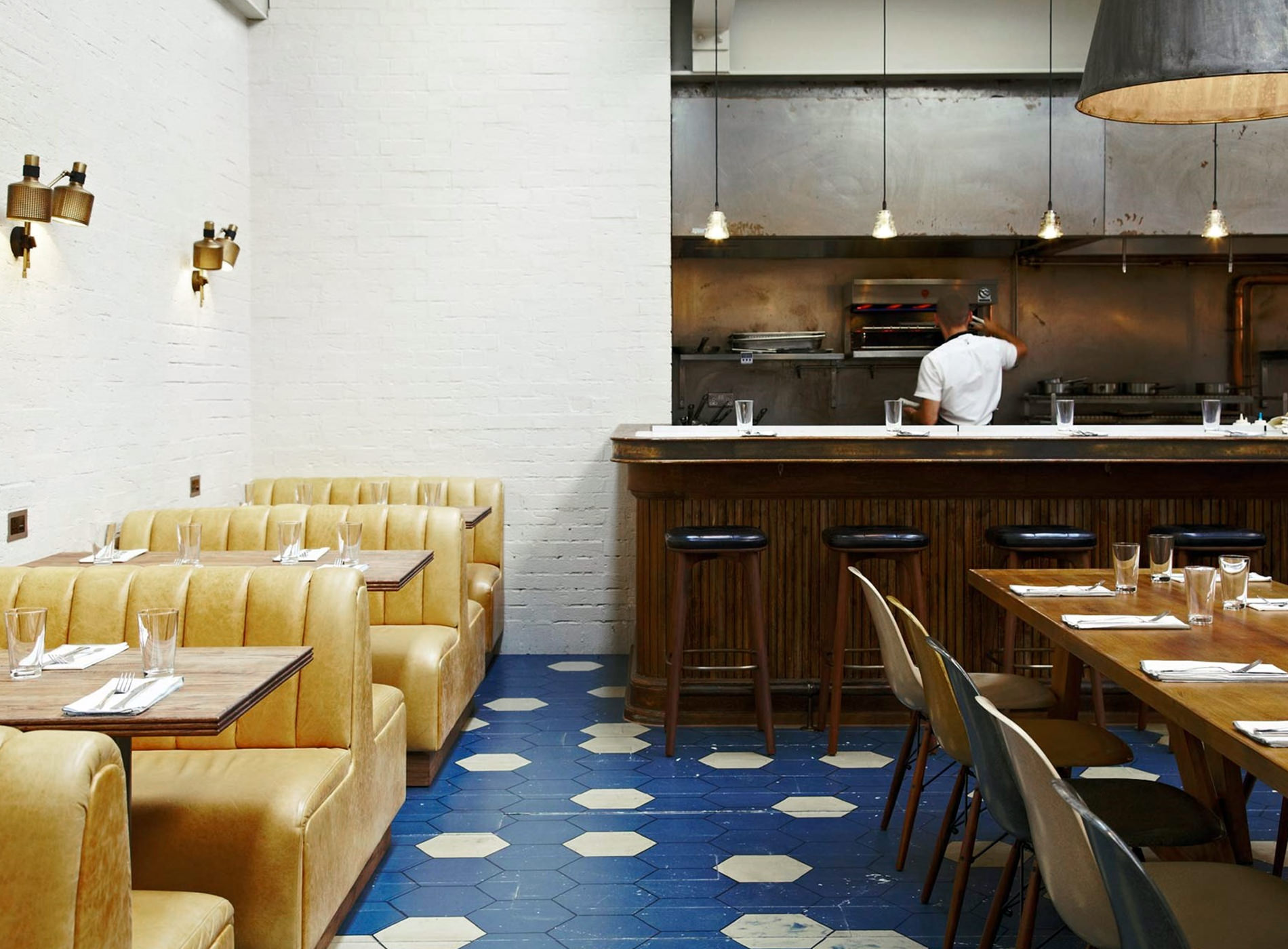 City Guide Londres Hubbard and Bell Restaurant The Hoxton Londres Hôtels