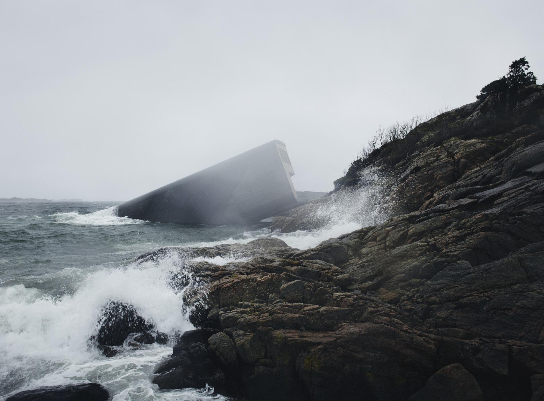 Norvège Restaurant Under Sous La Mer