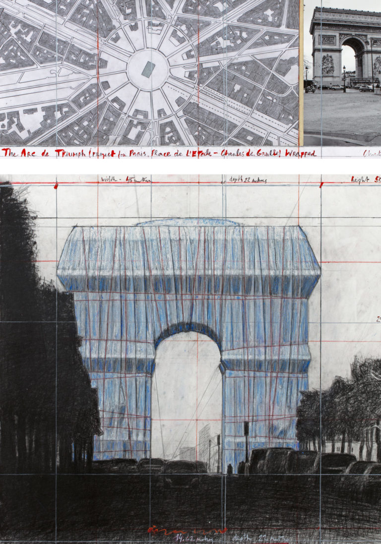 City Guide Paris Christo Arc de Triomphe Land Art Avril 2020