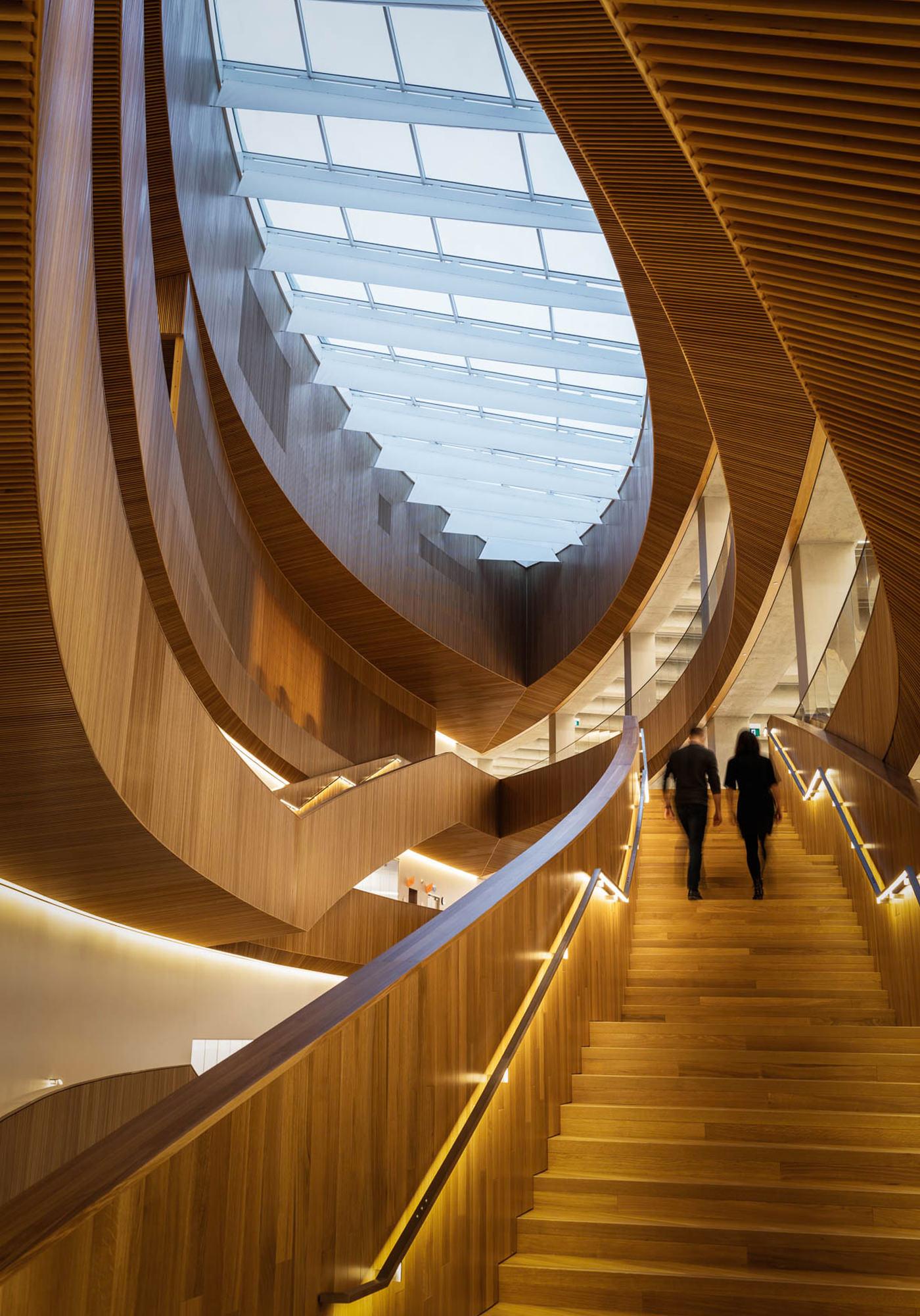 City Guide Calgary The Central Library Bibliothèque Snøhetta Architectes
