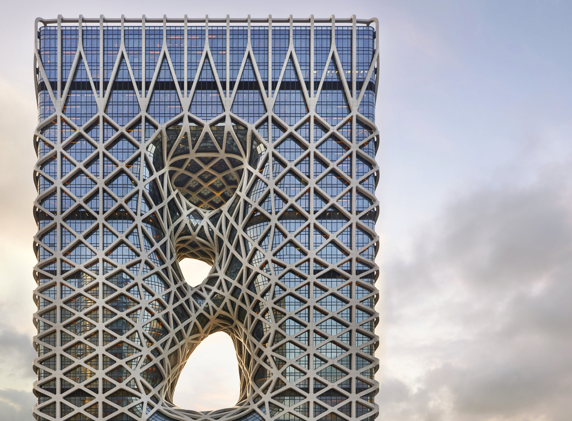 City Guide Macao Chine Morpheus Hotel Zaha Hadid Architects