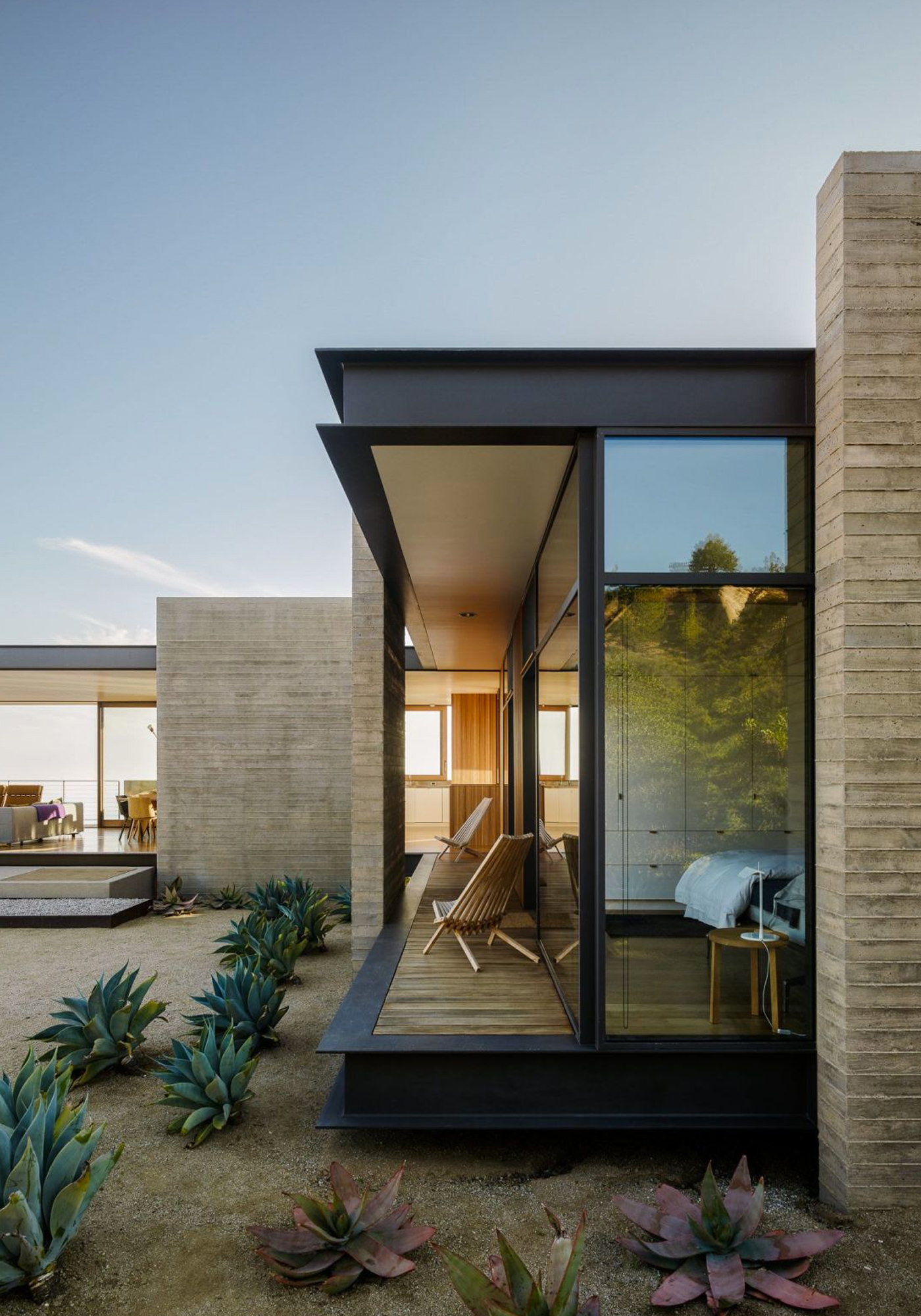Architecture Maison Saddle Peak Topanga Canyon