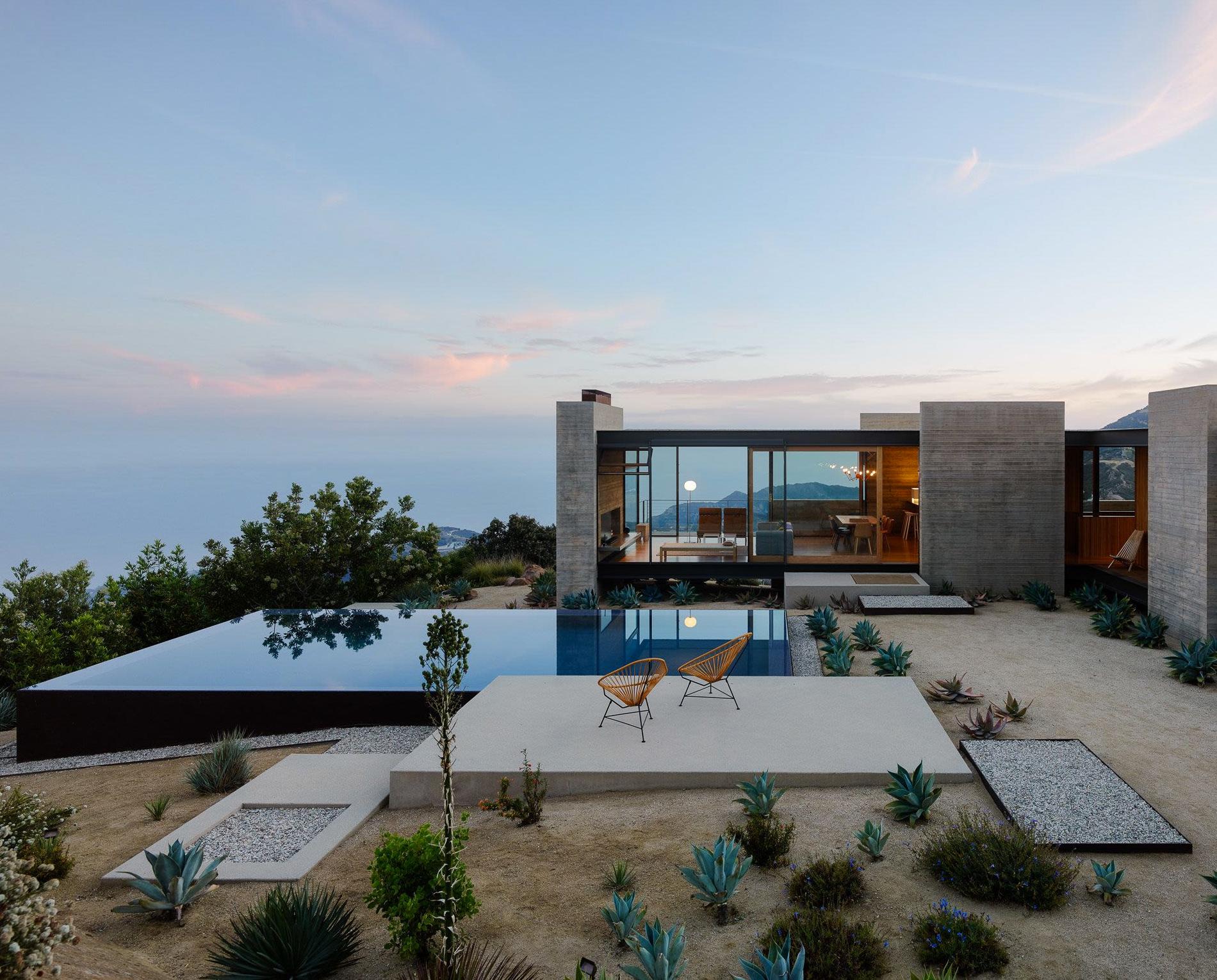 Architecture Californie Maison Saddle Peak House Topanga Canyon