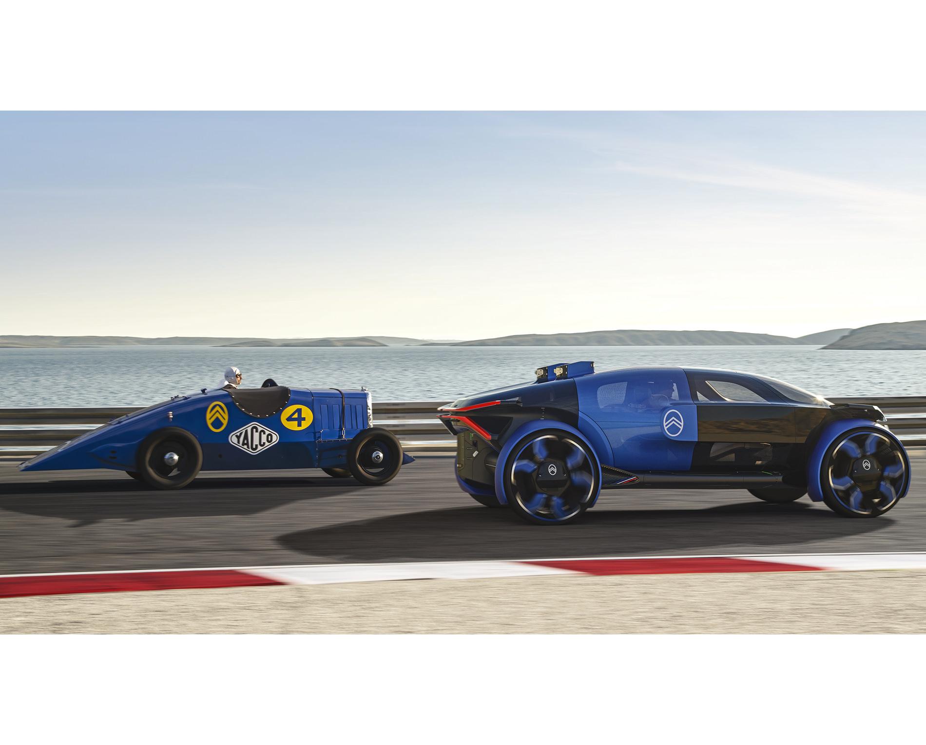 Citroen 19_19 Concept Car Electrique Voyage Extra Urbain Hors Ville