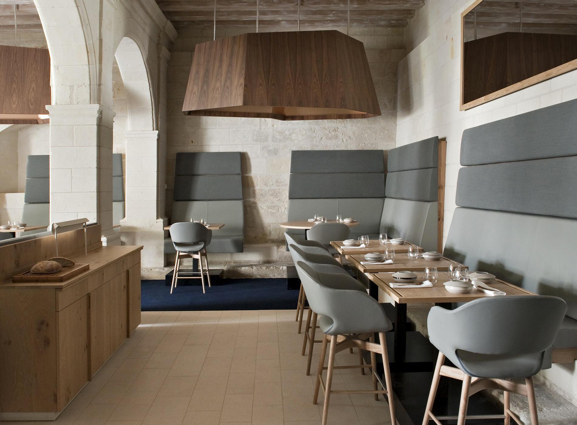 Fontevraud l'Hôtel Restaurant Design Patrick Jouin