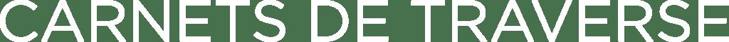 Logo Carnets de Traverse - White