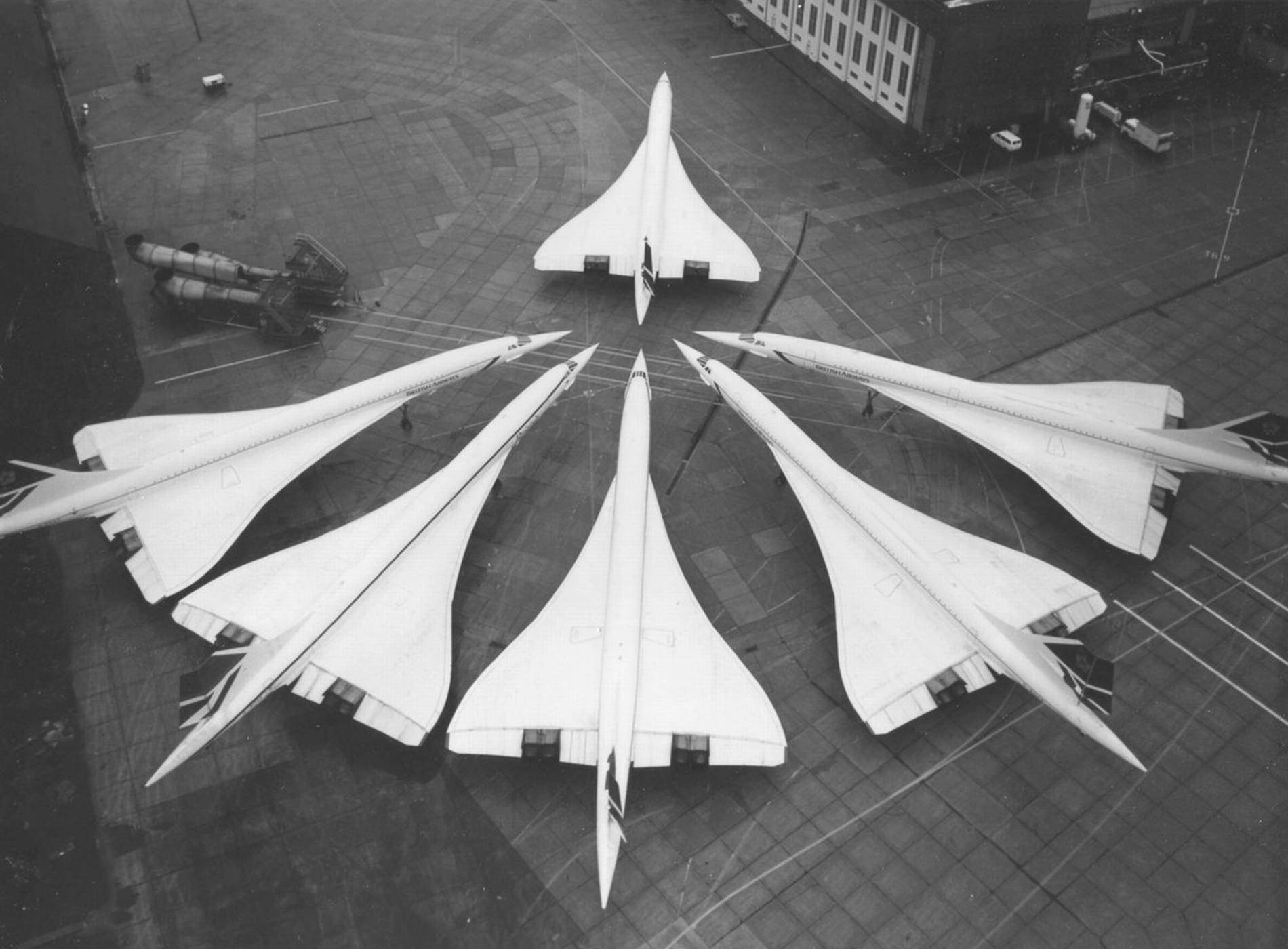 Concorde British Airways Parking