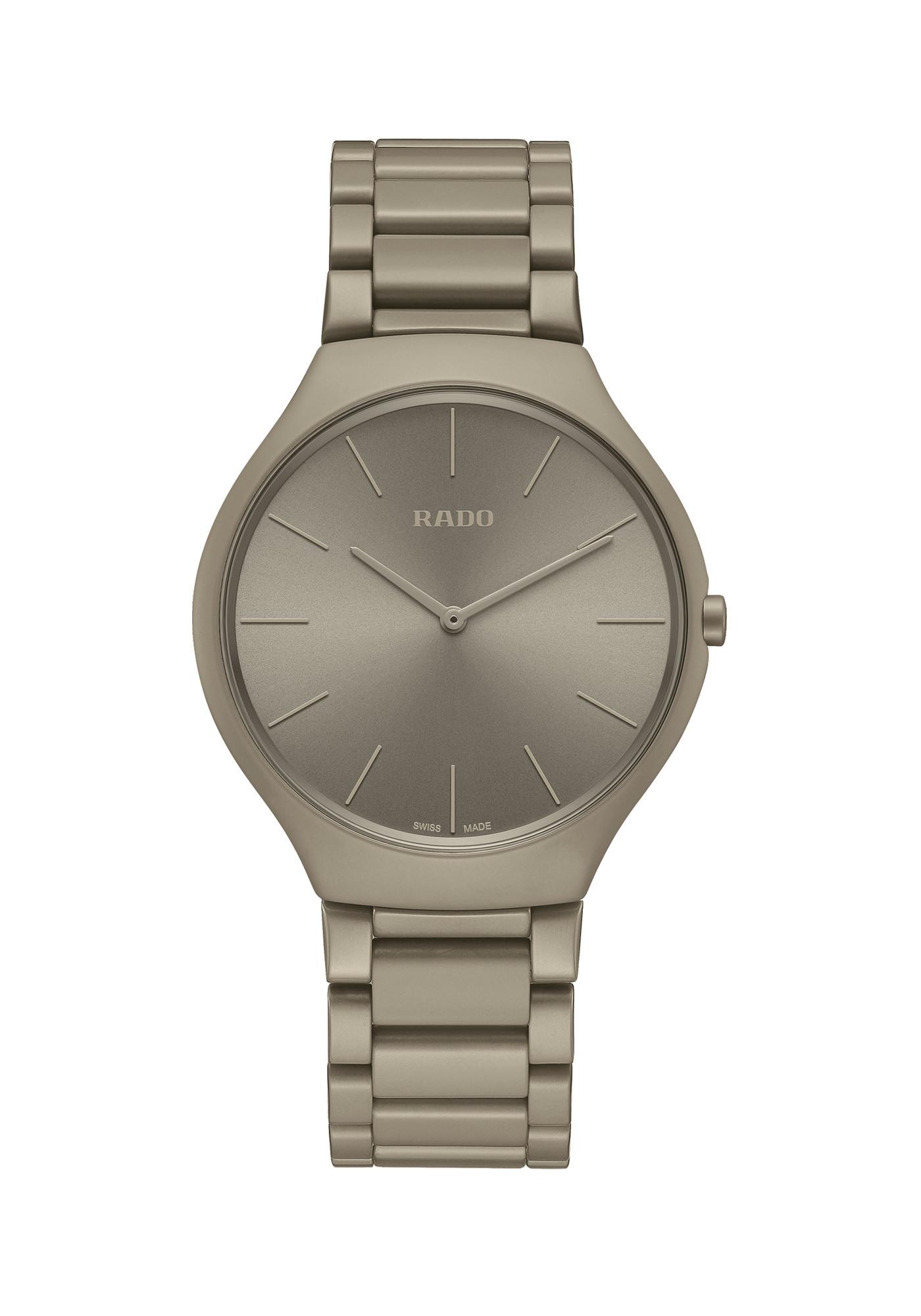 Rado Montres True Thinline Les Couleurs Le Corbusier Grey Brown Natural Umber 32141