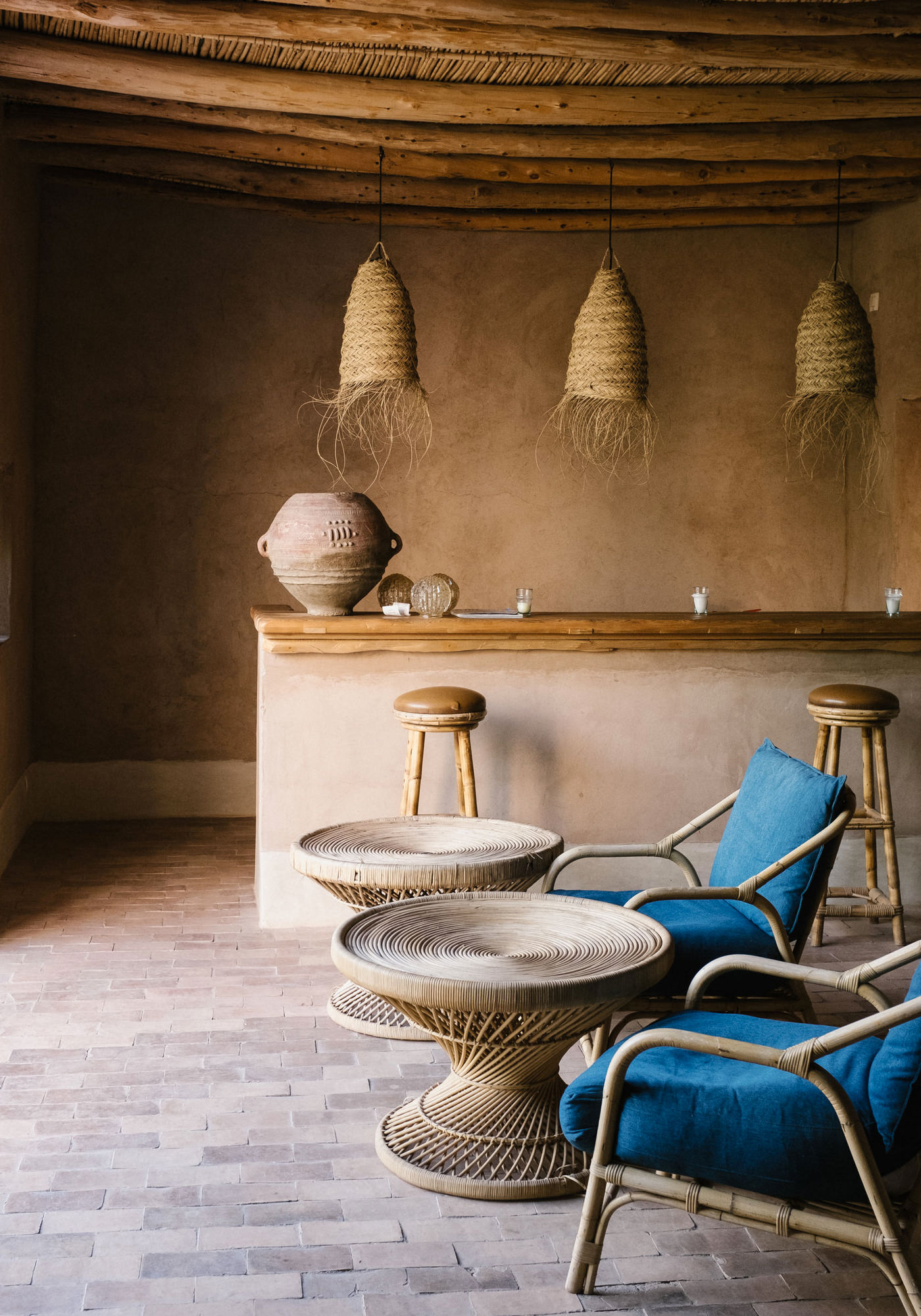 Berber Lodge Hotel Maison Oumnas Maroc Bar