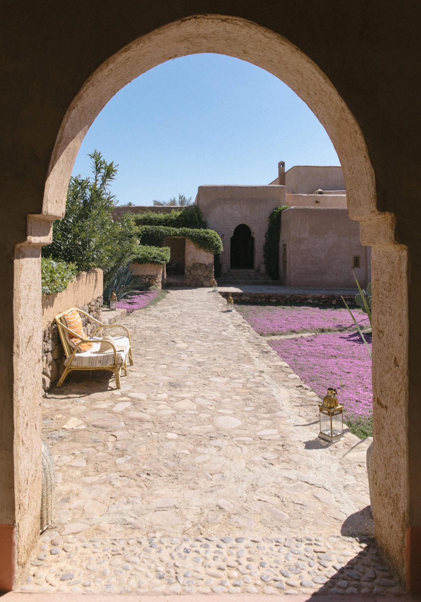 Berber Lodge Hotel Maison Oumnas Maroc Architecture