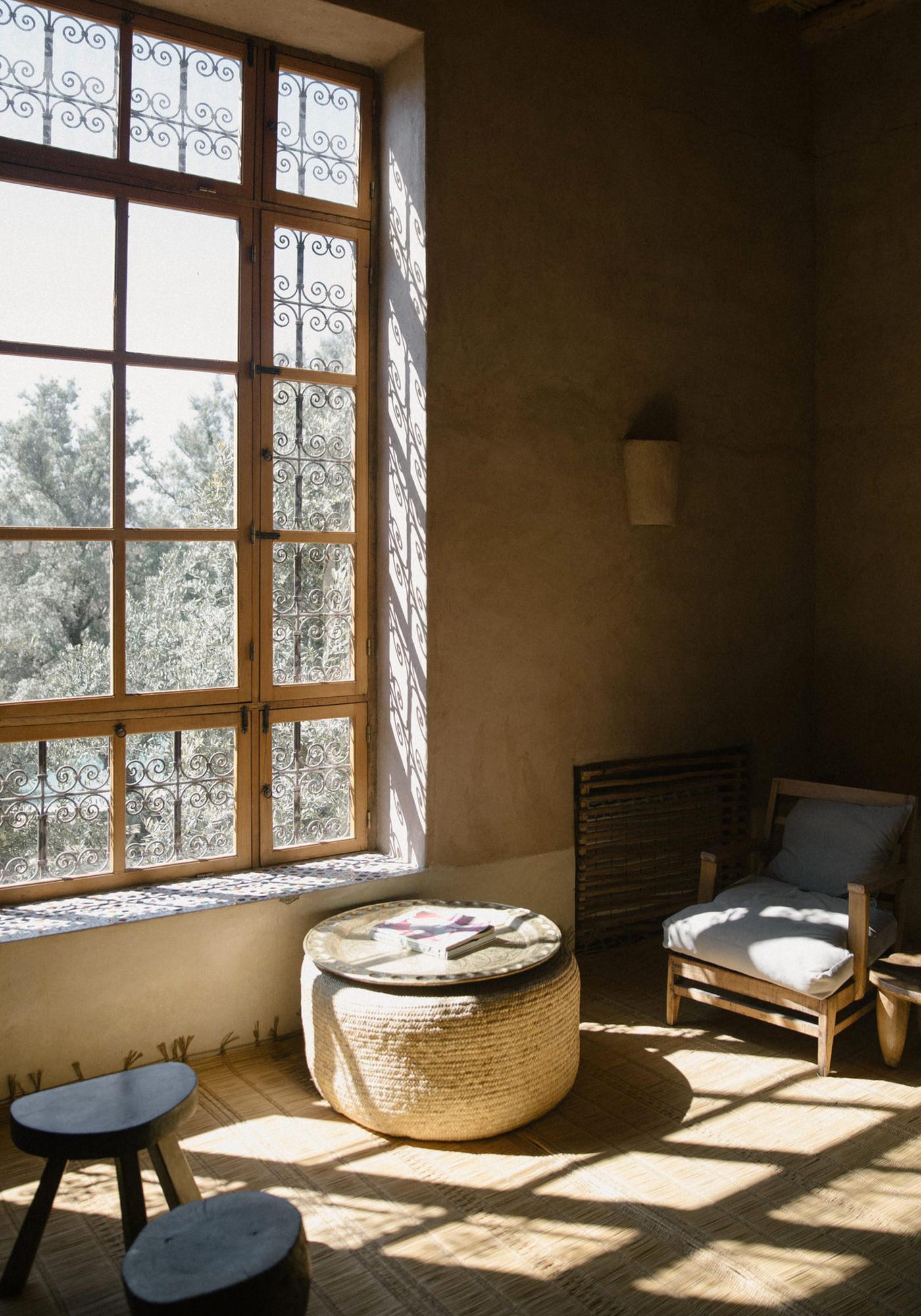 Berber Lodge Hotel Maison Oumnas Maroc Marrakech Intérieur Fenêtre