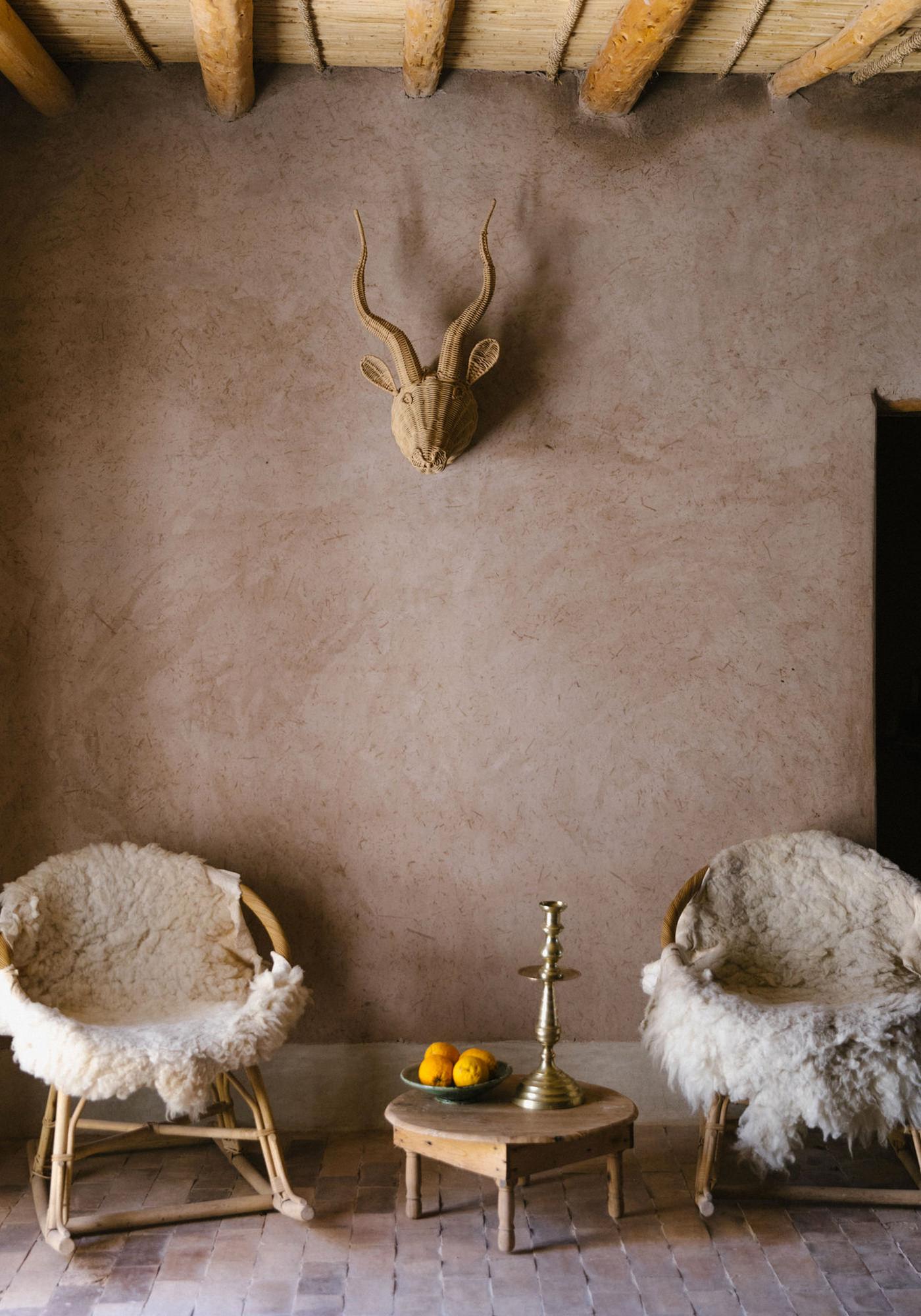 Berber Lodge Hotel Maison Oumnas Maroc Marrakech Salon