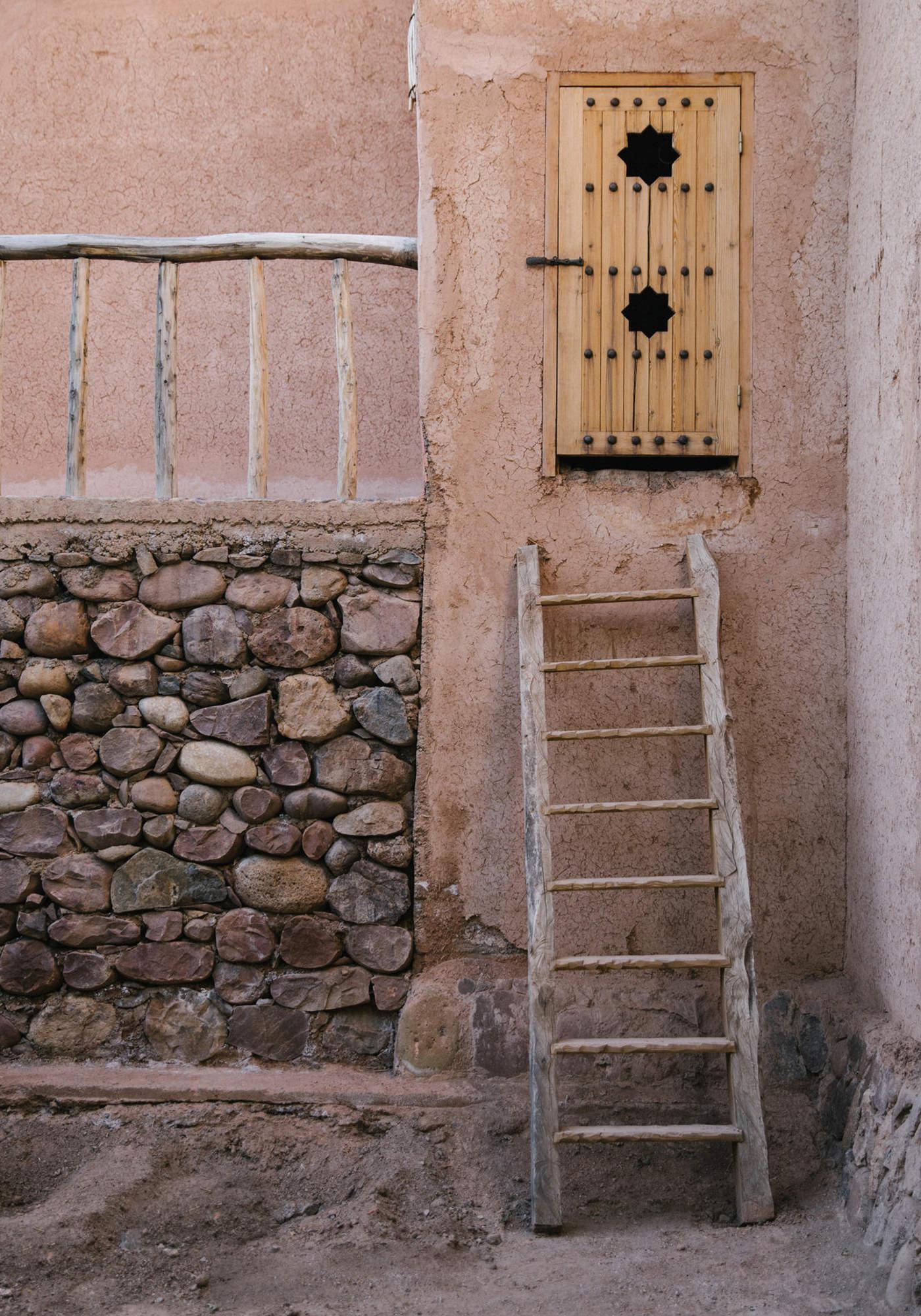 Berber Lodge Hotel Maison Oumnas Maroc Cour Extérieure