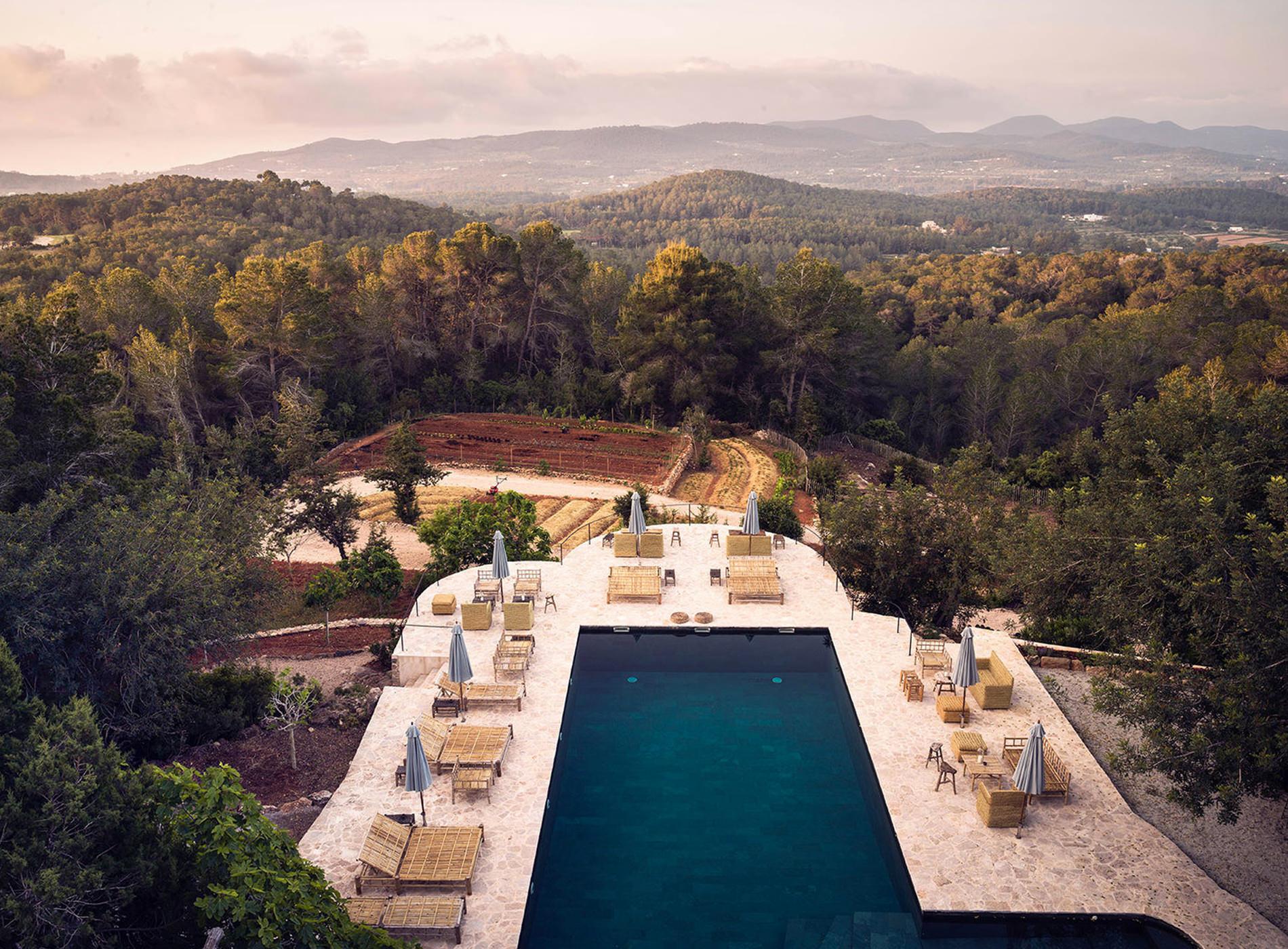 La Granja Ibiza Hotel Design Hotels Espagne Paysages