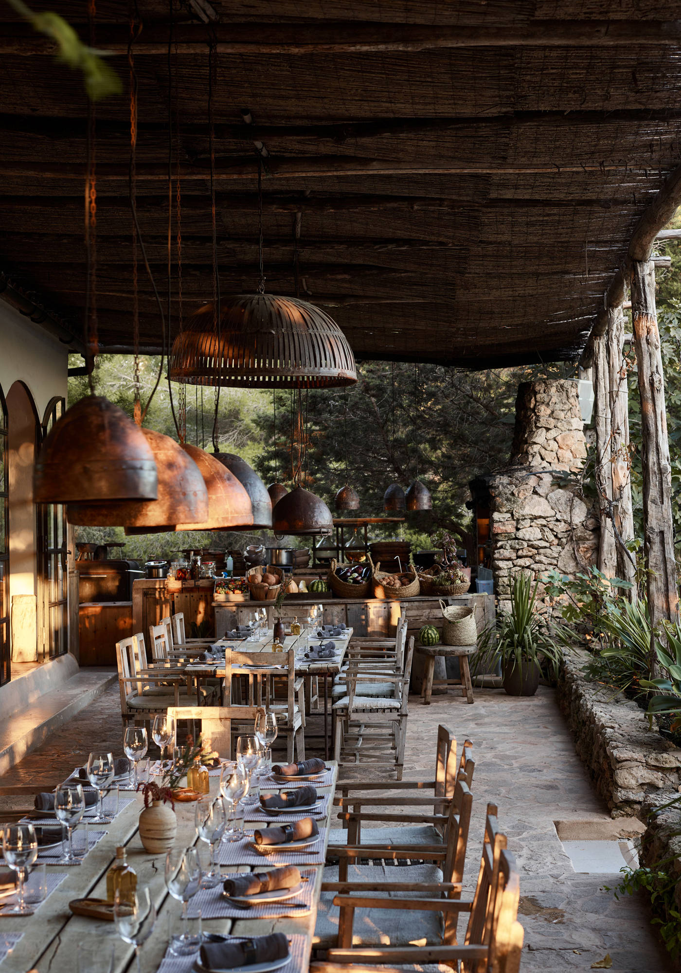 La Granja Ibiza Hotel Design Hotels Espagne Restaurant