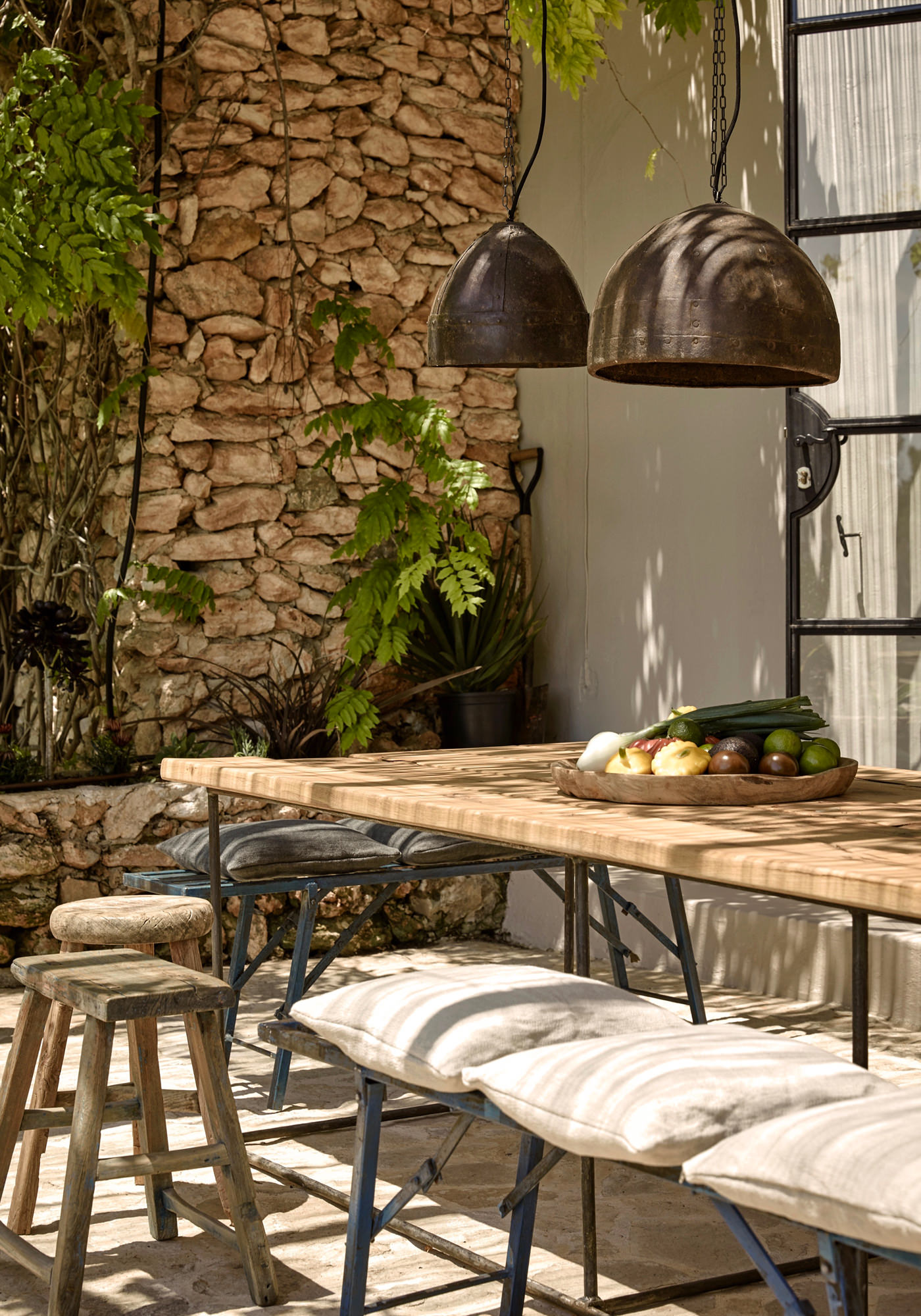 La Granja Ibiza Hotel Design Hotels Espagne Terrasse
