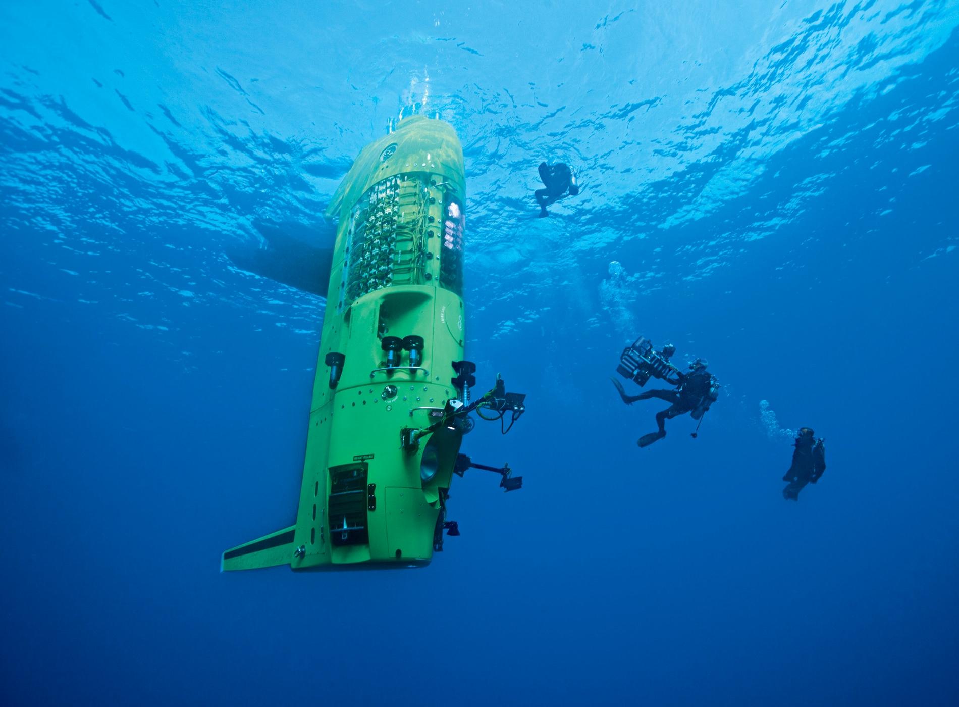 DeepSea Challenger 26 mars 2012 James Cameron