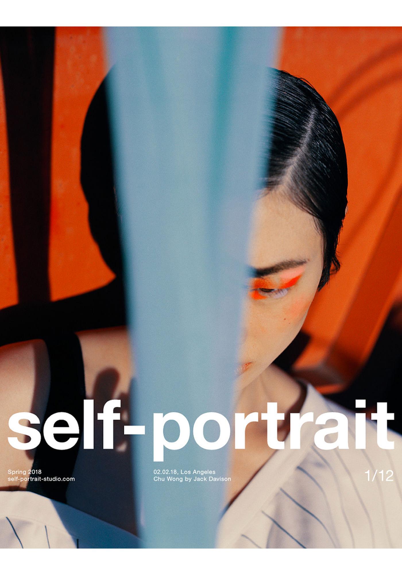 Jack Davison Photographie Magazine Cover Self-Portrait Couleur