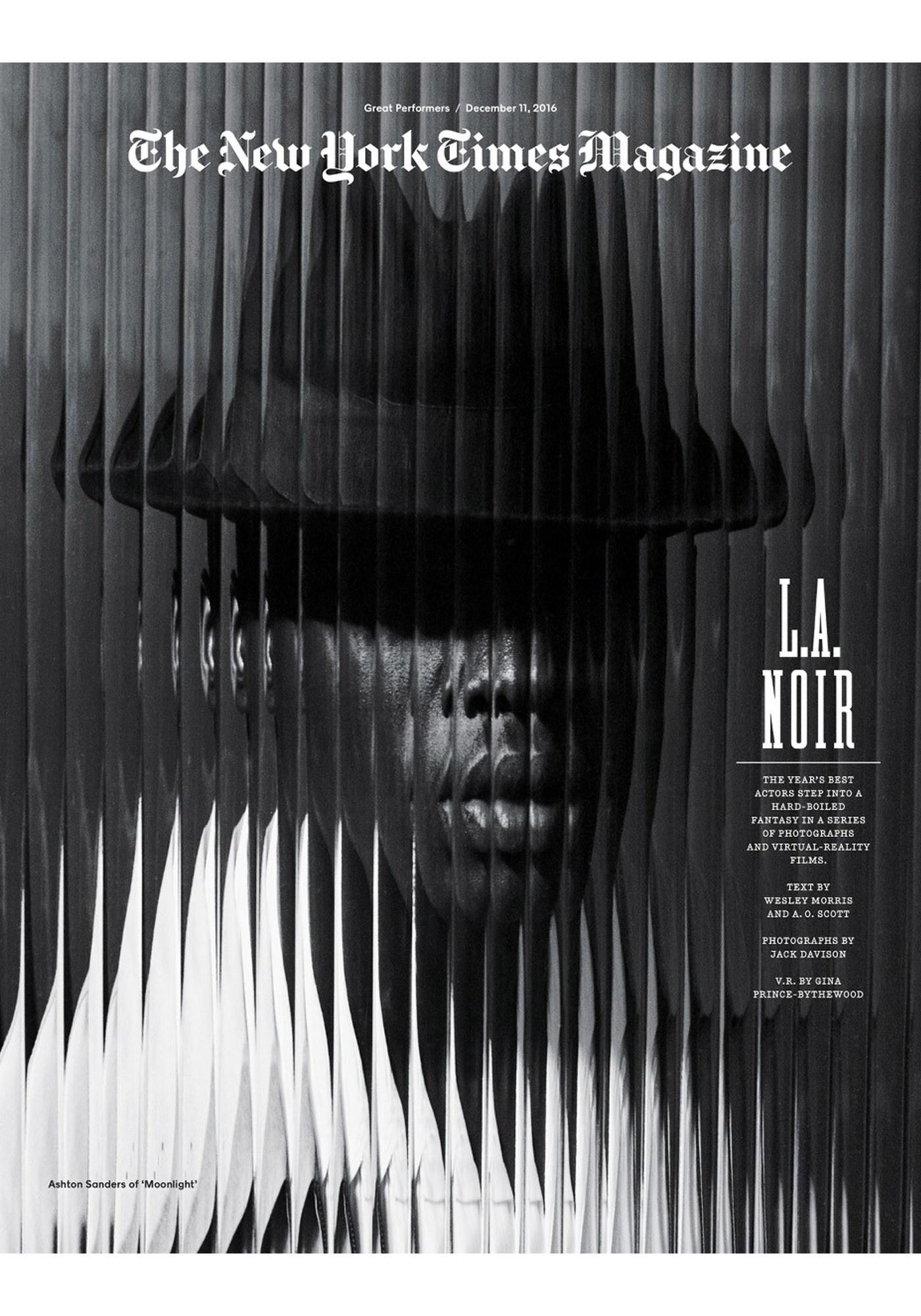 Jack Davison Photographie Magazine Cover New York Times Couleur