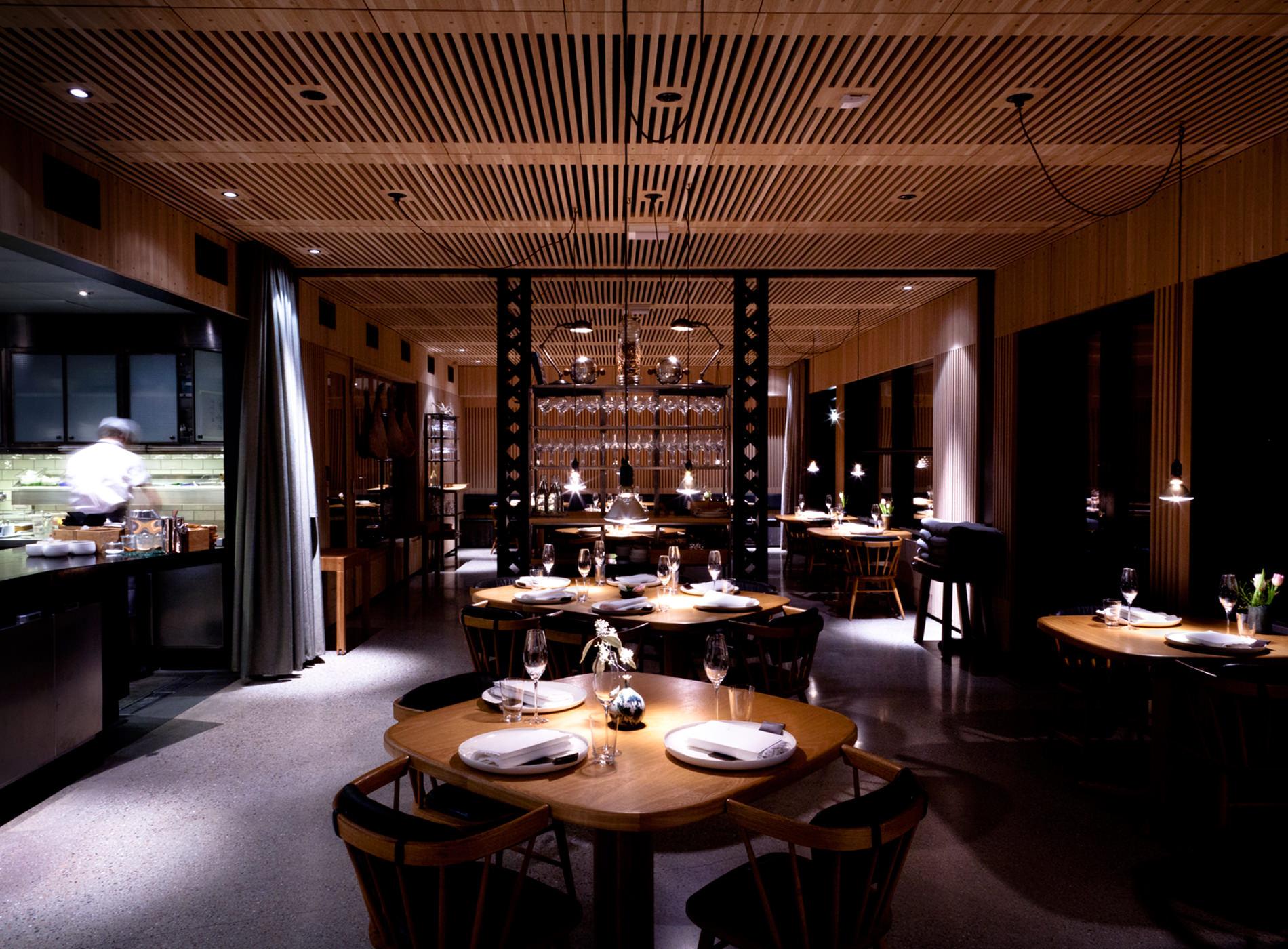 Oaxen Krog Restaurants Etoilés Michelin Stockholm Intérieur