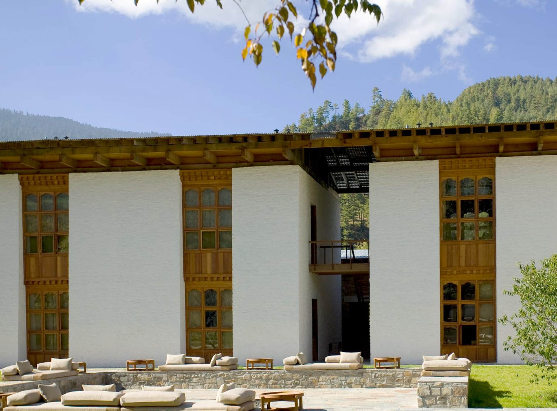 Amankora Lodges Bhoutan Bumthang Lodge Architecture