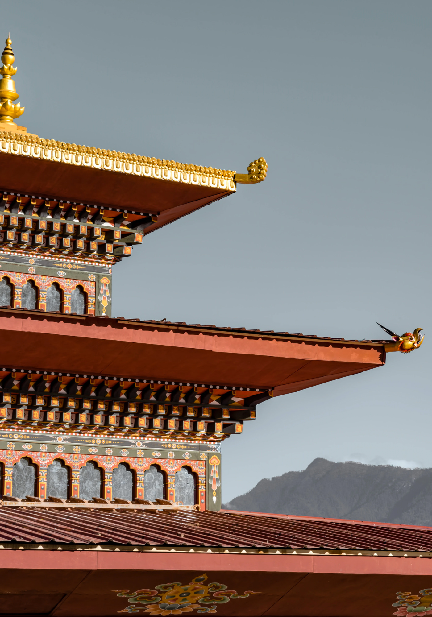 Bhoutan Architectures Bouddhistes