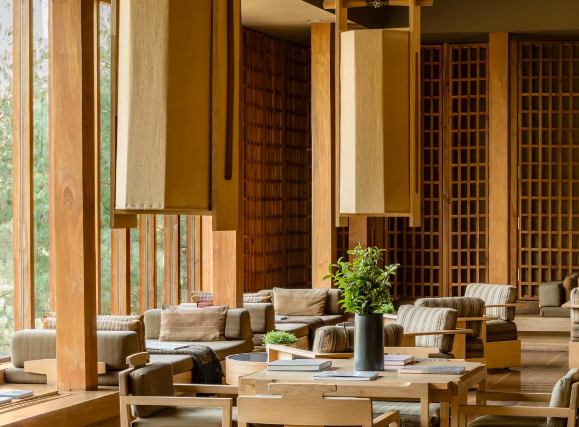 Amankora Lodges Bhoutan Paro Lodge Salle Déjeuner