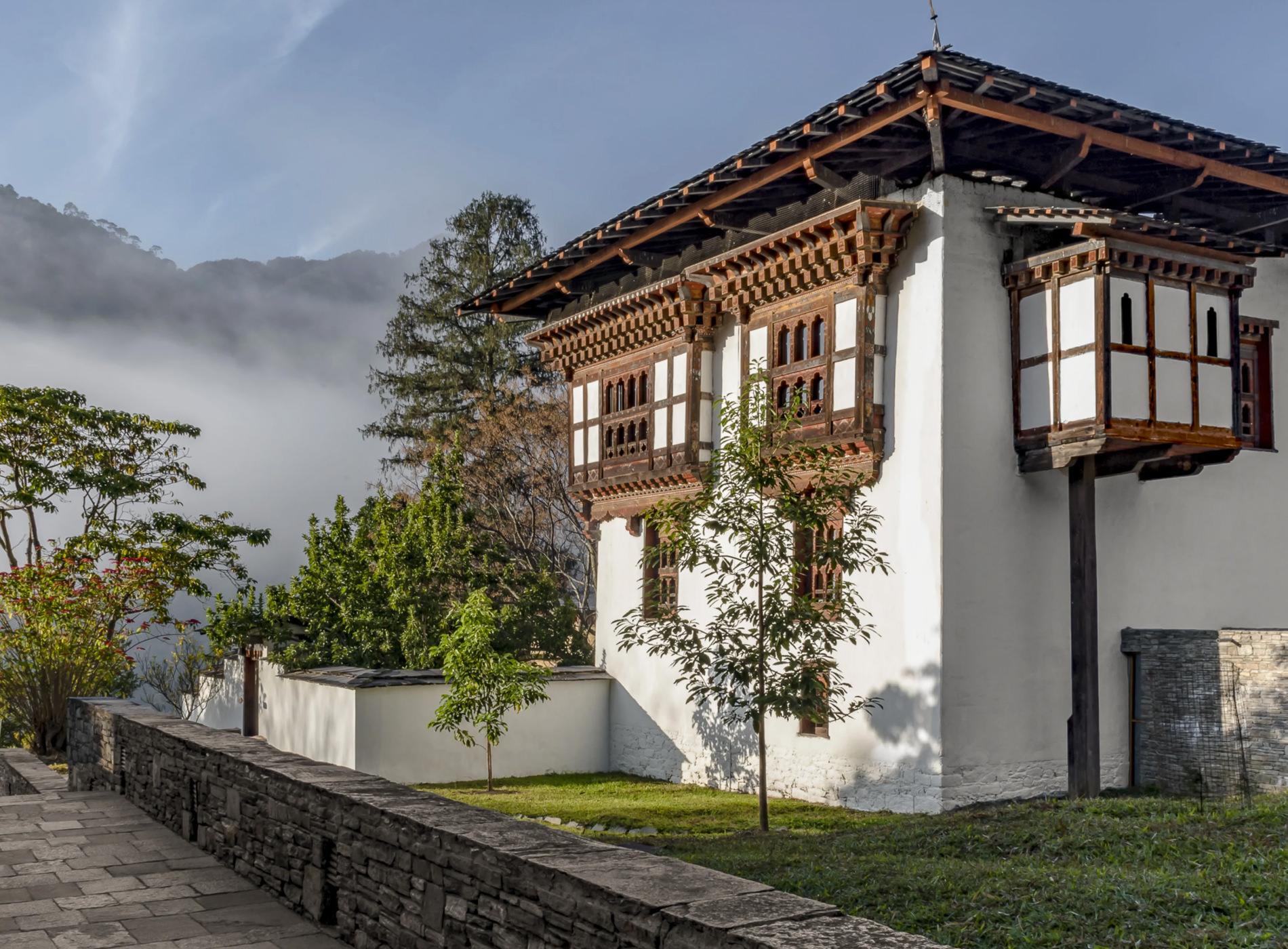Amankora Lodges Bhoutan Punakha Lodge Architecture