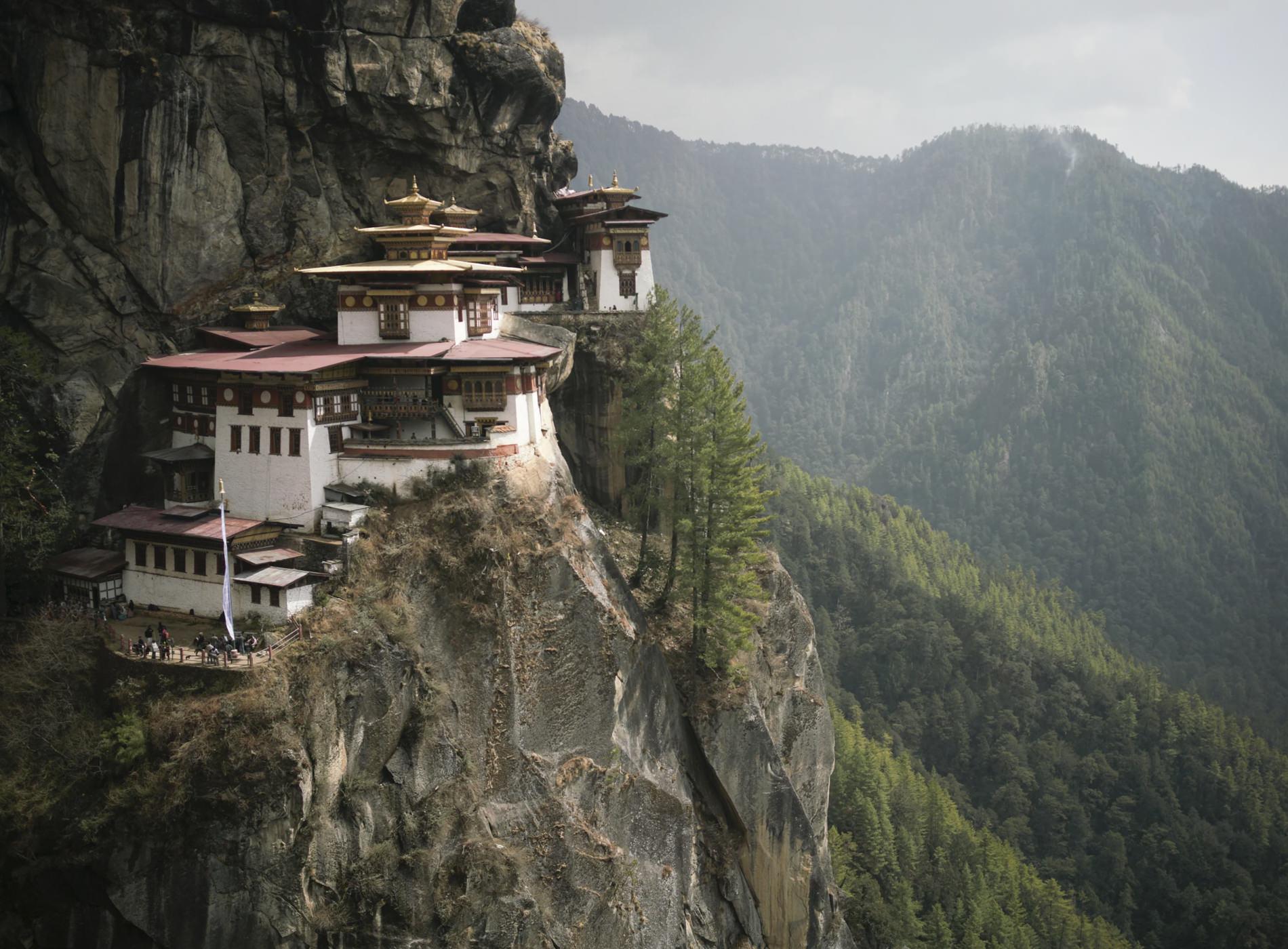 Amankora Lodges Bhoutan Monastère Taktshang Tiger's Nest