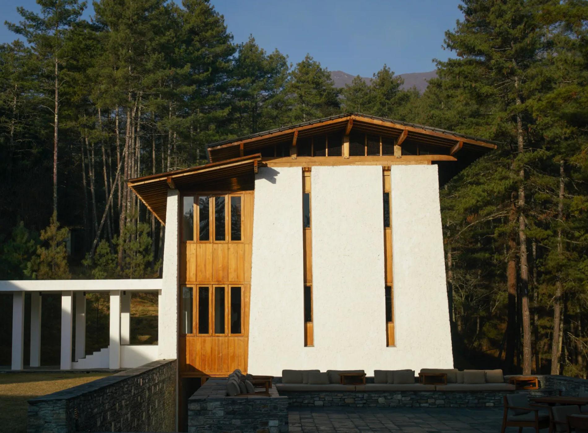 Bhoutan Thimphu Lodge Architecture
