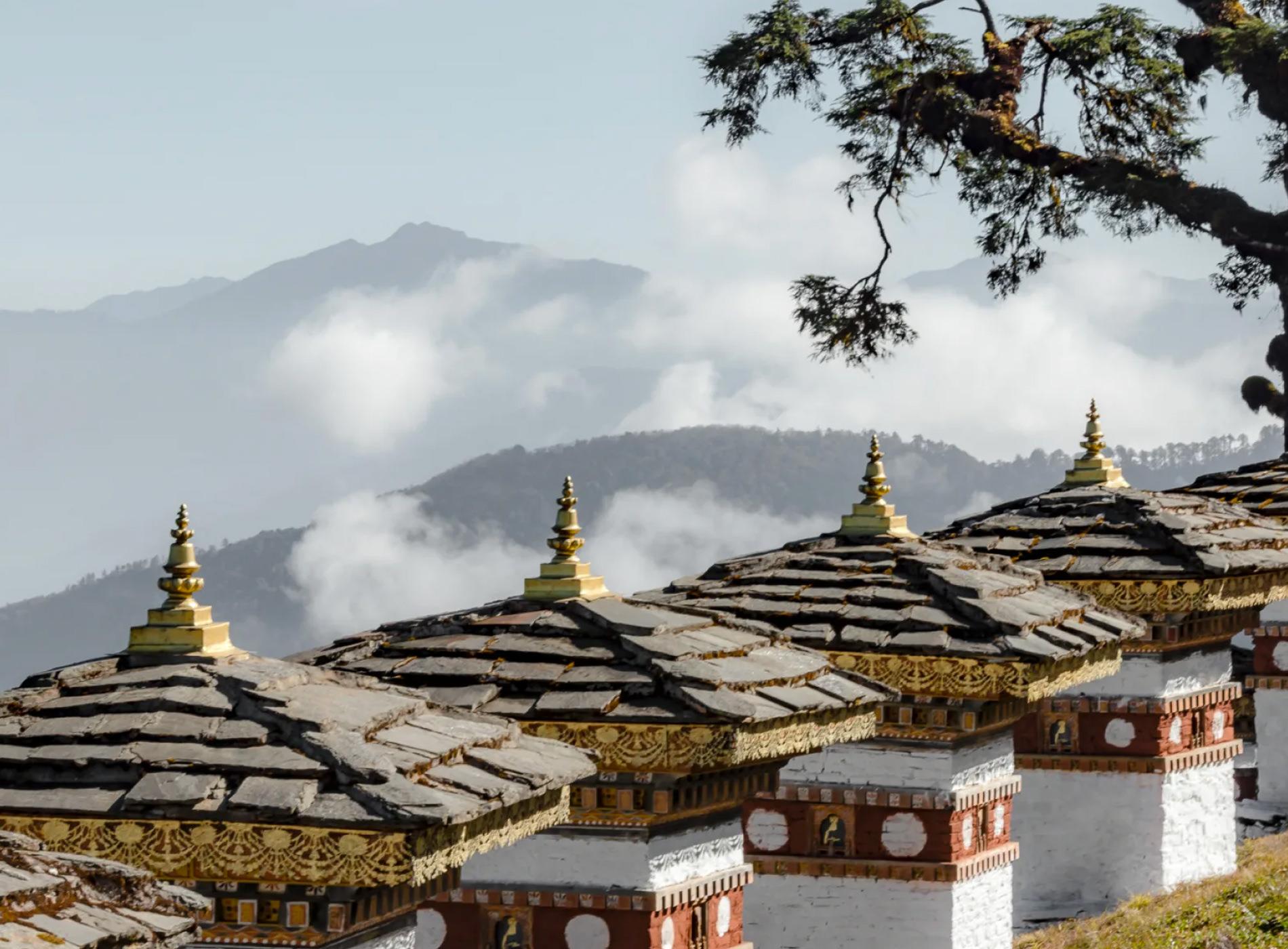 Bhoutan Thimphu Lodge Col de Dochula