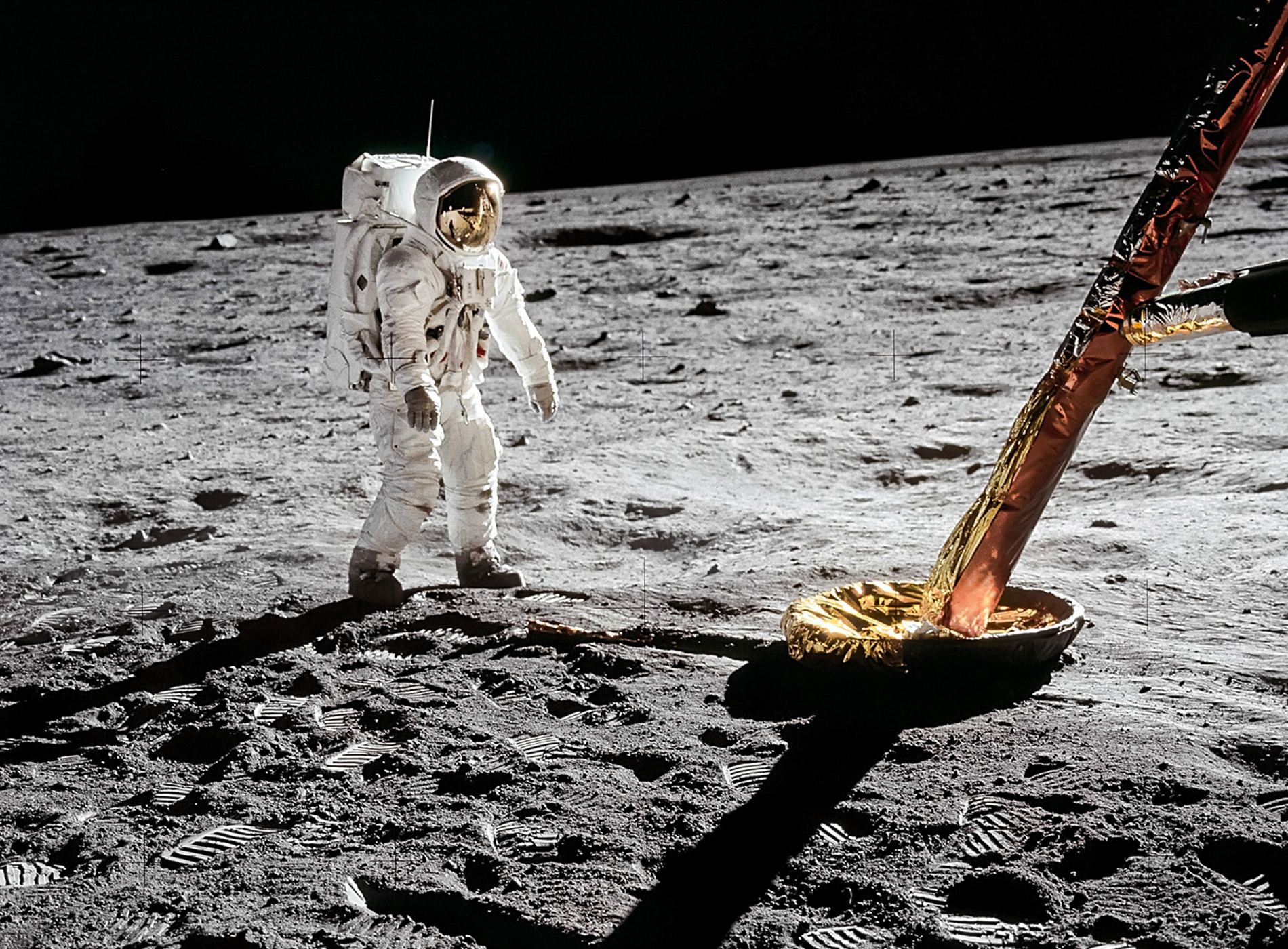 Apollo 11 Atterrissage Lune Buzz Aldrin Neil Armstrong