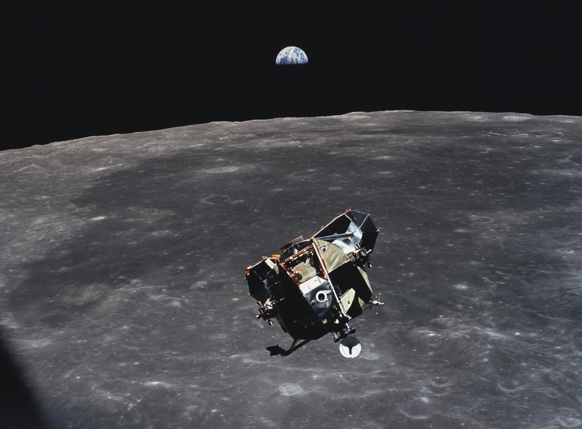 Apollo 11 Atterrissage Lune Module Eagle