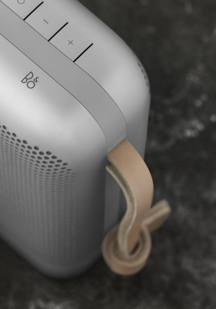 Enceinte Beoplay P6 Bang & Olufsen Silver Edition