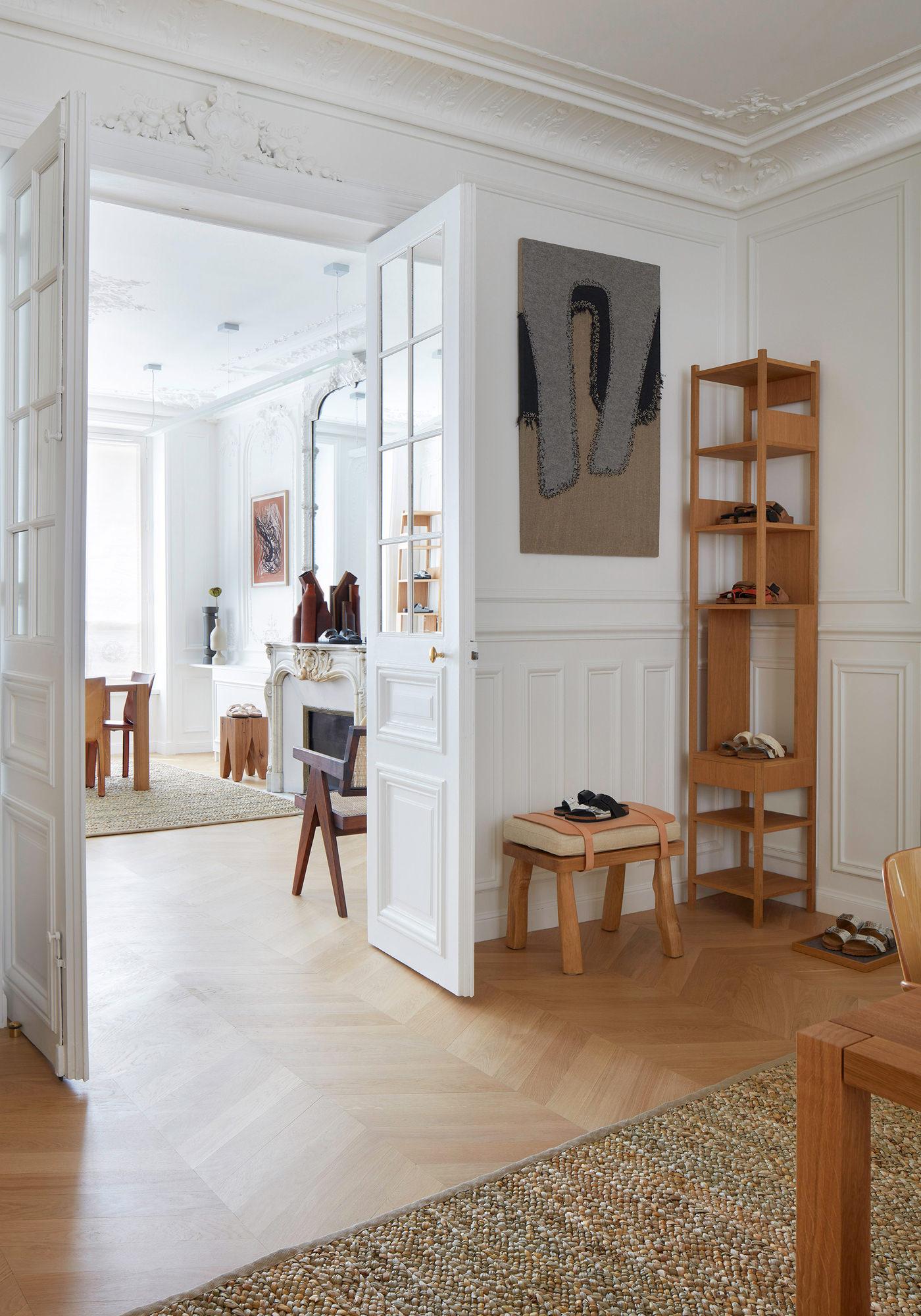 Birkenstock Nouveau Showroom Paris Appartement Parisien