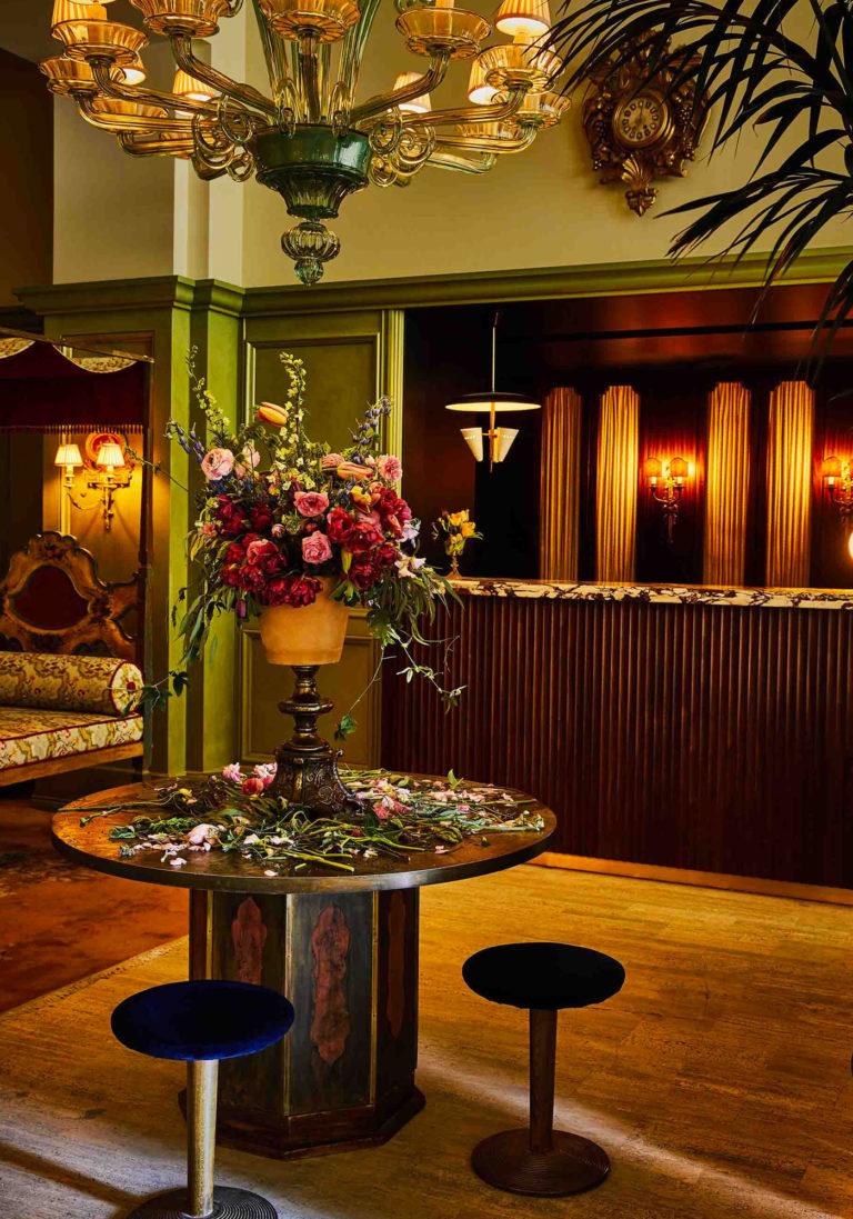 The Siren Hotel Lobby