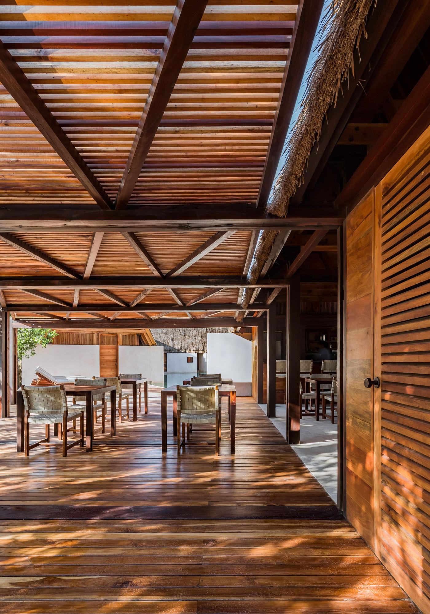 Hotel Punta Caliza Isla Holbox Yucatan Mexique