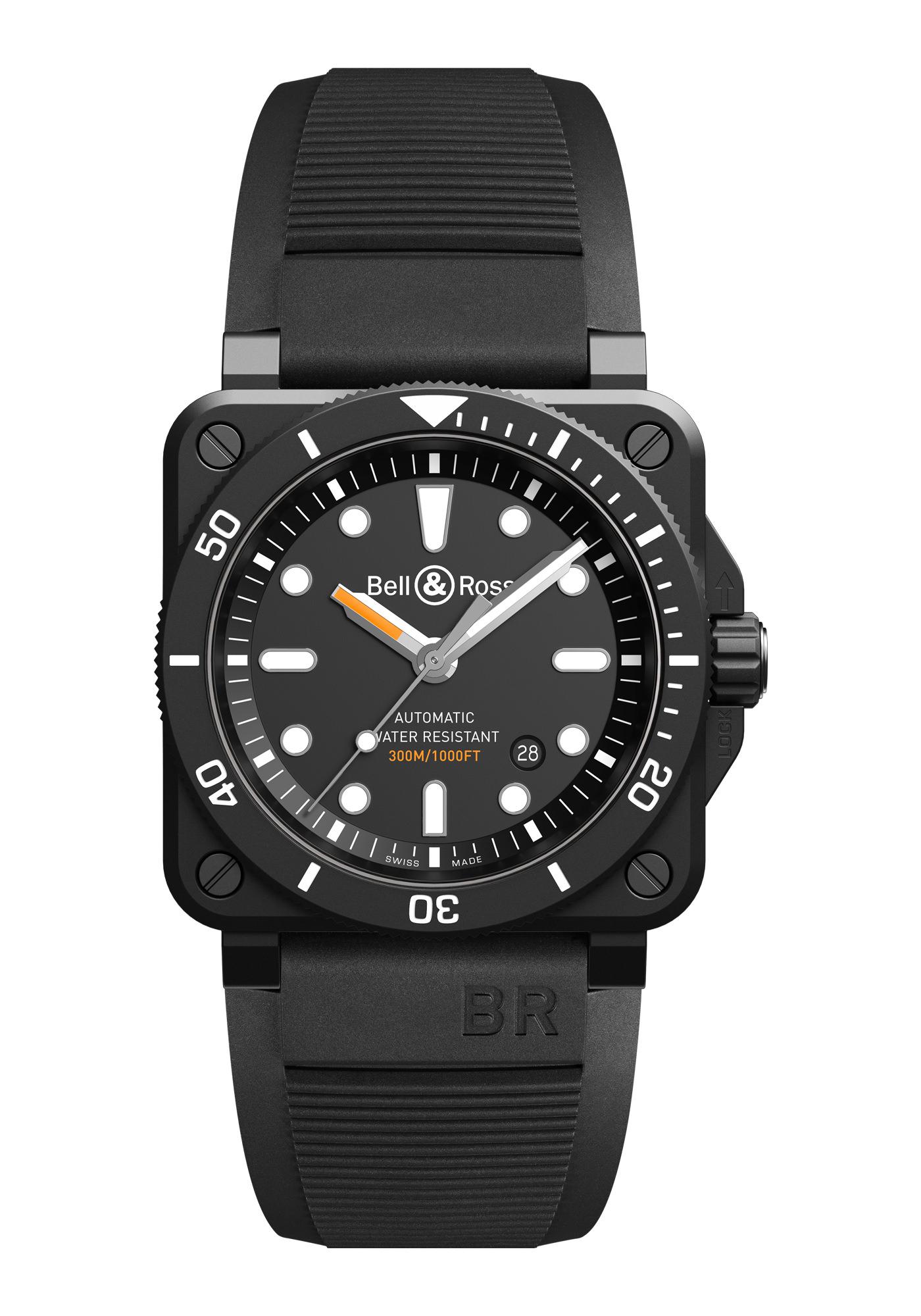 Bell & Ross BR03-92 Diver Black Matte