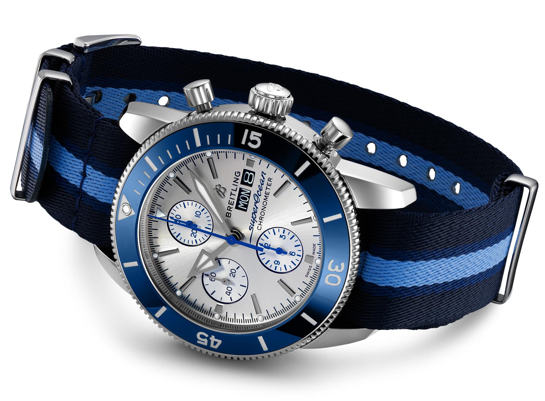 Meilleures Montres de Plongée Breitling Superocean Heritage Ocean Conservancy Limited Edition
