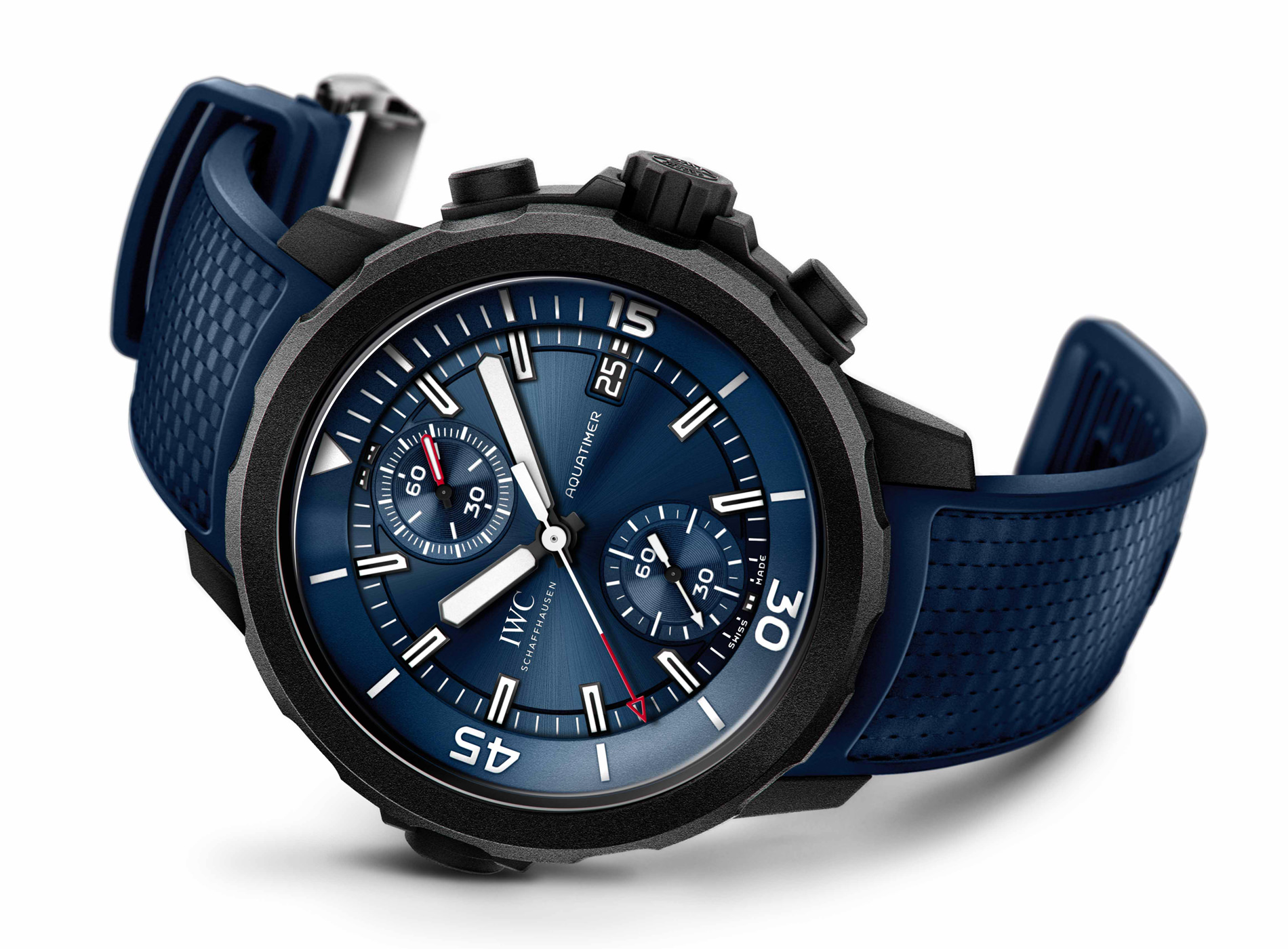 "Meilleures Montres de Plongée IWC Aquatimer Automatic ""Laureus Sport For Good"""