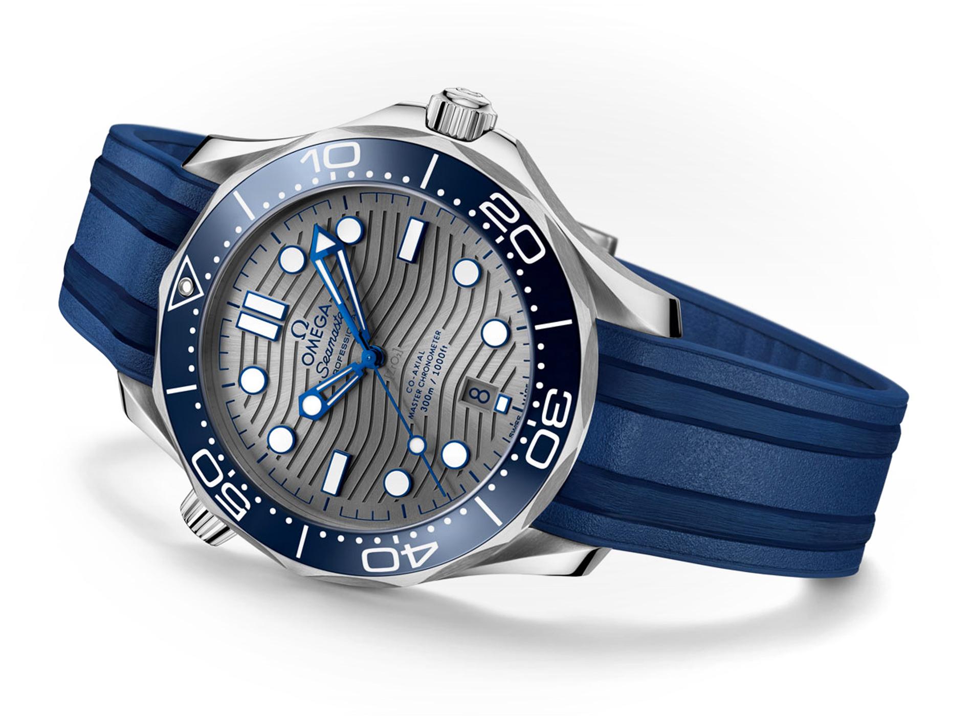 Meilleures Montres de Plongée Omega Seamaster Diver 300M Chronometer