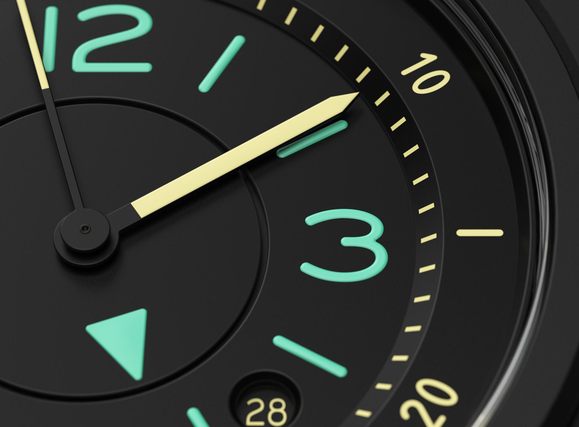 Montre Bell & Ross 03 92 Bi Compass Détails