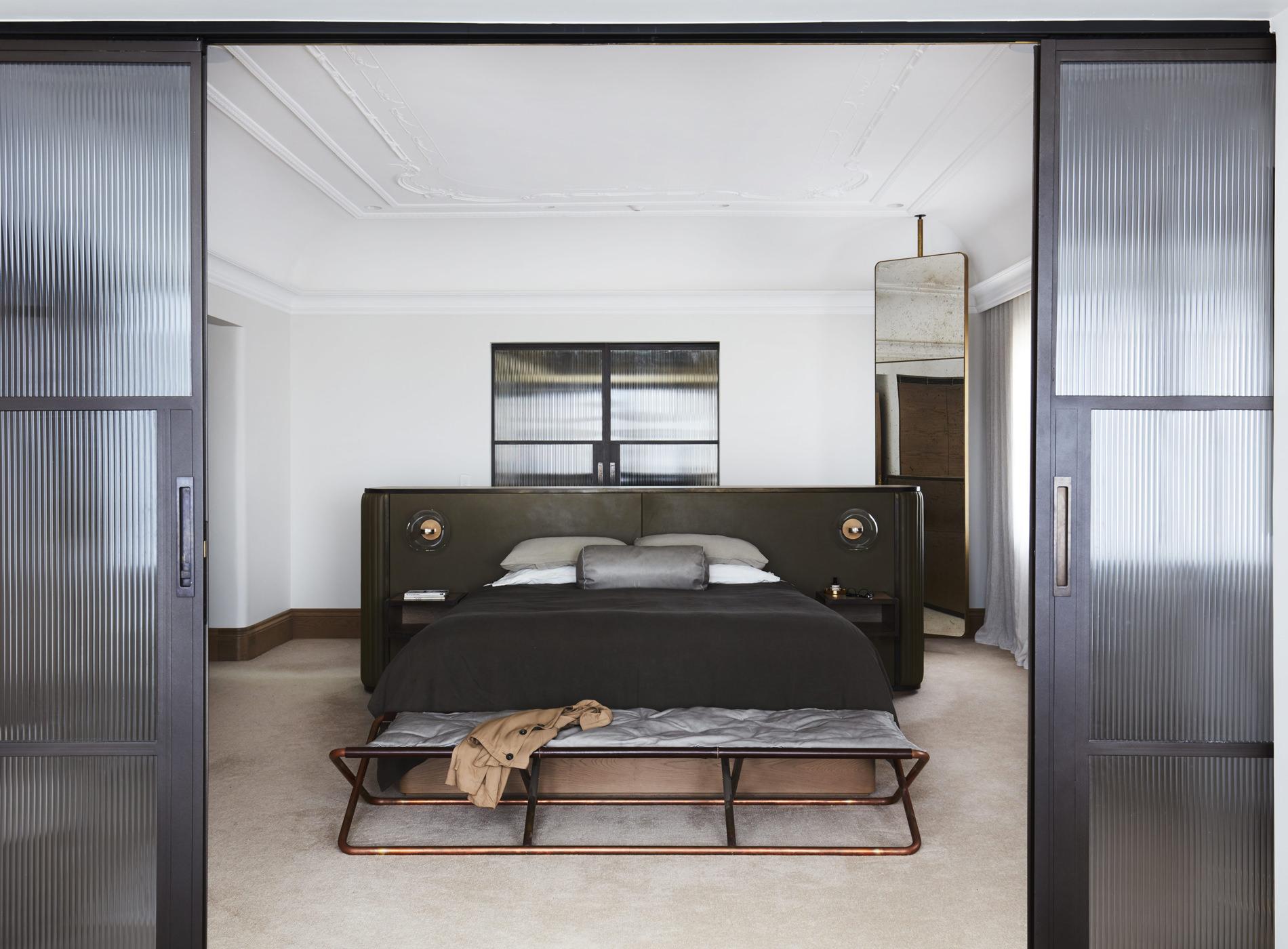 Architecture PepperTree Villa Bellevue Hill Sydney Chambre à Coucher