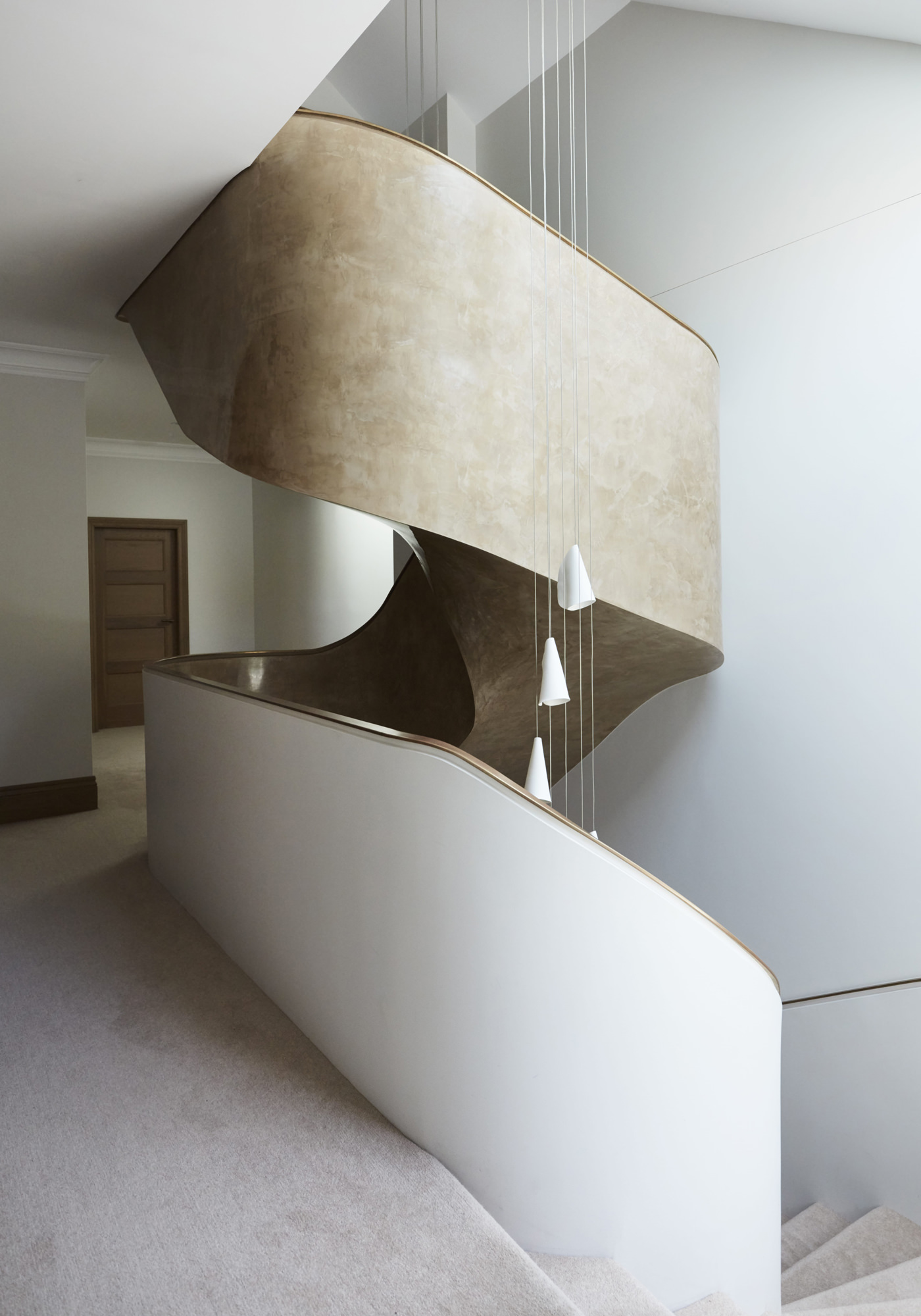 Architecture PepperTree Villa Bellevue Hill Sydney Escalier