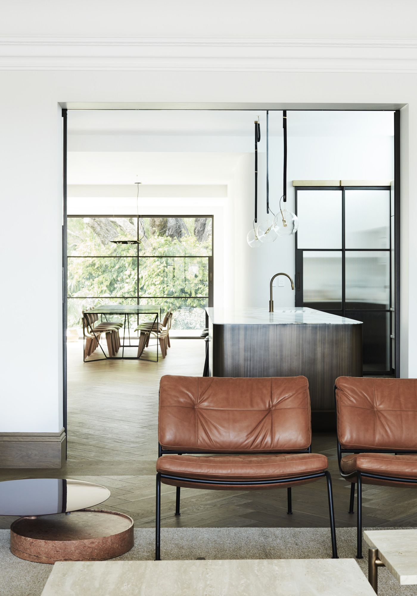 Architecture PepperTree Villa Bellevue Hill Sydney Mobiliers Fauteuils