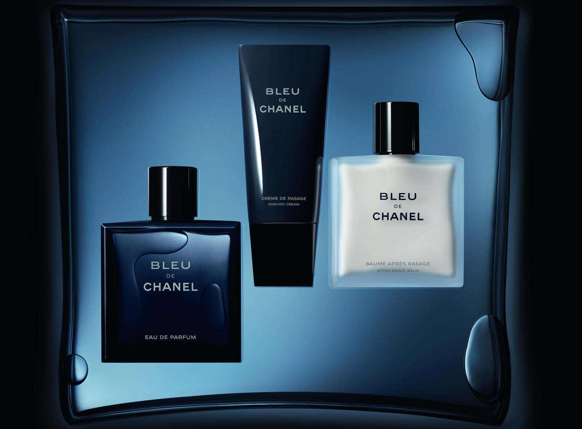 Sélection Beauté Voyage Homme Bleu de Chanel