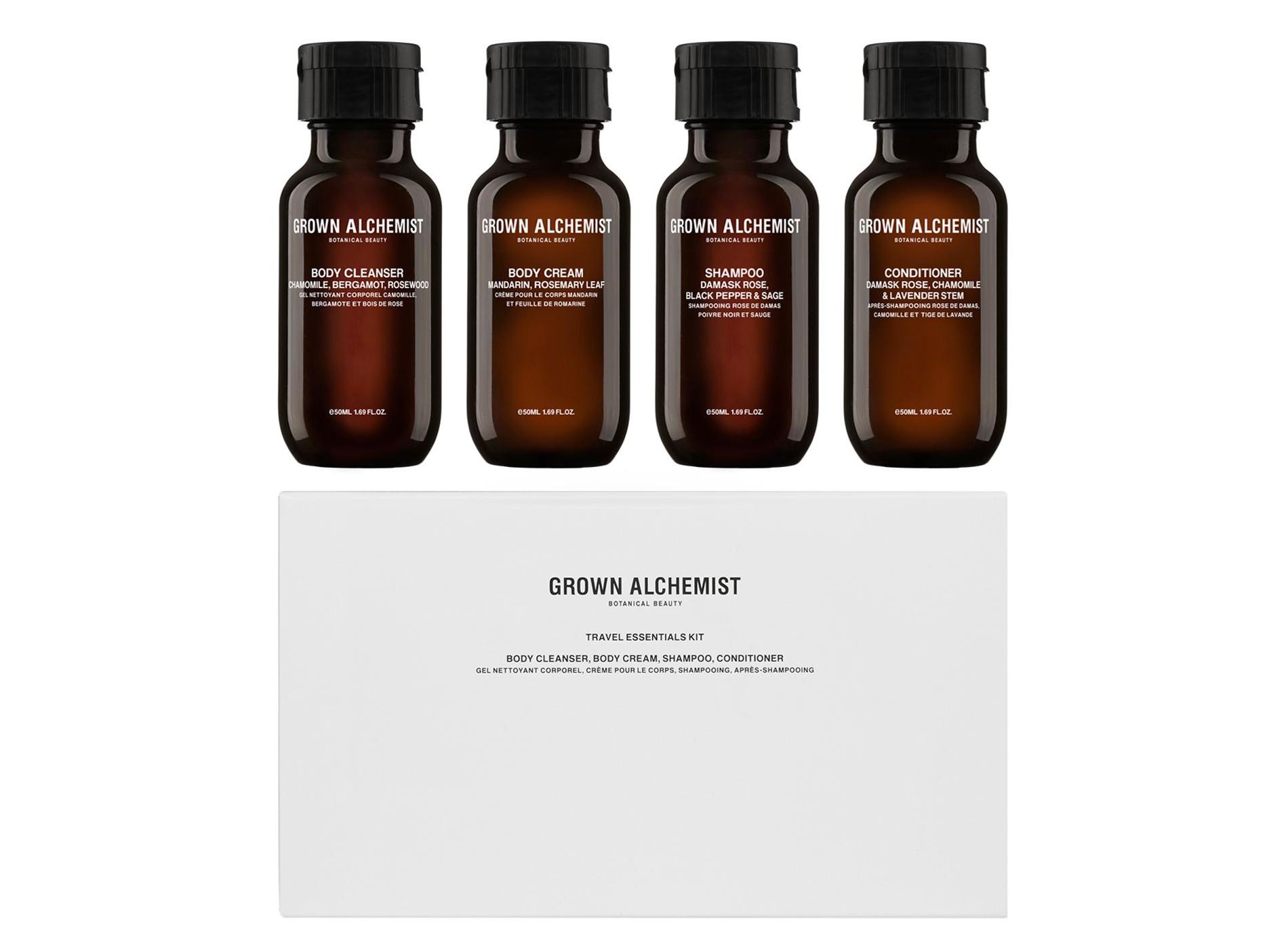 Sélection Beauté Voyage Grown Alchemist