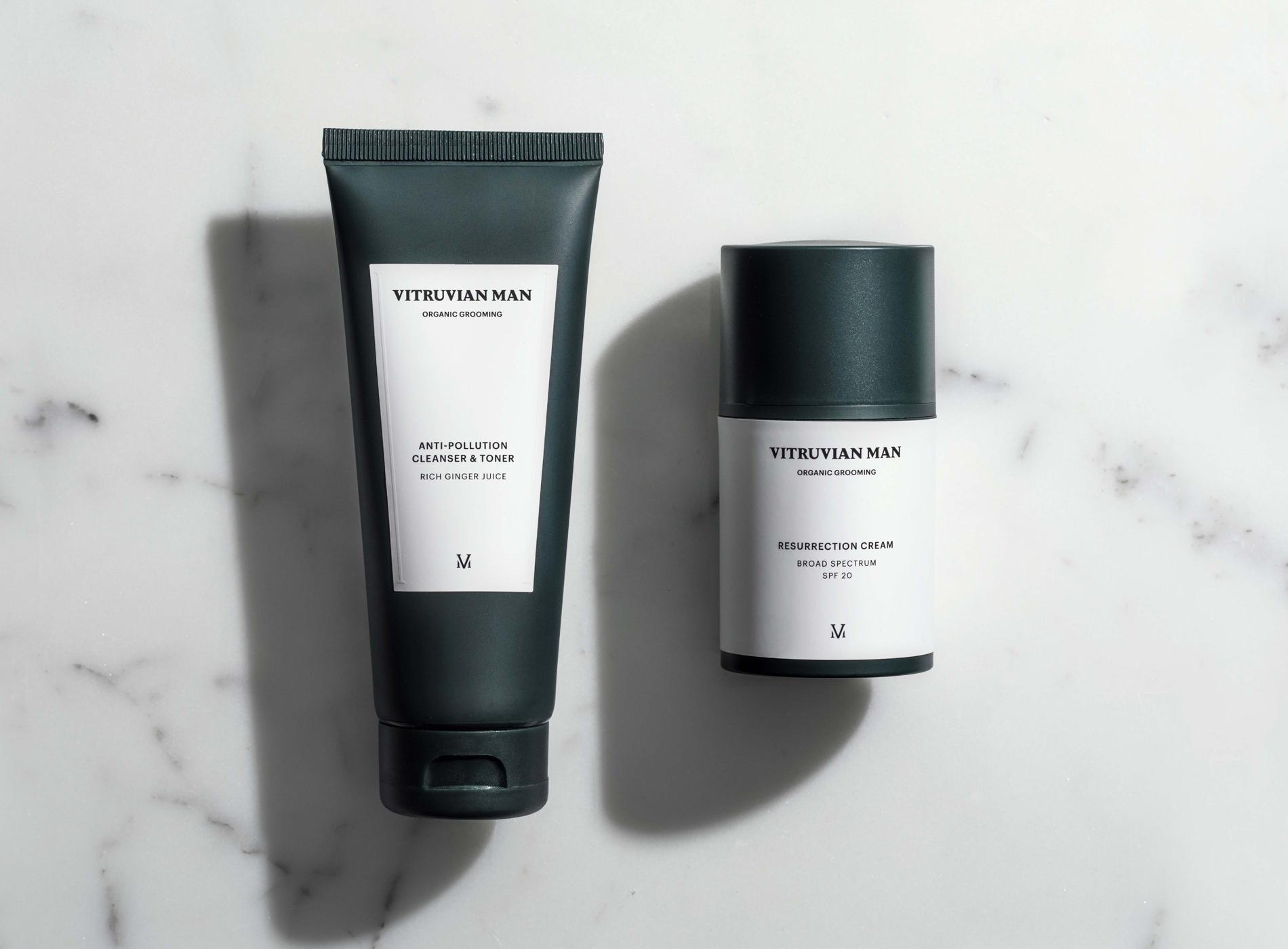 Sélection Beauté Voyage Homme Vitruvian Man Skincare
